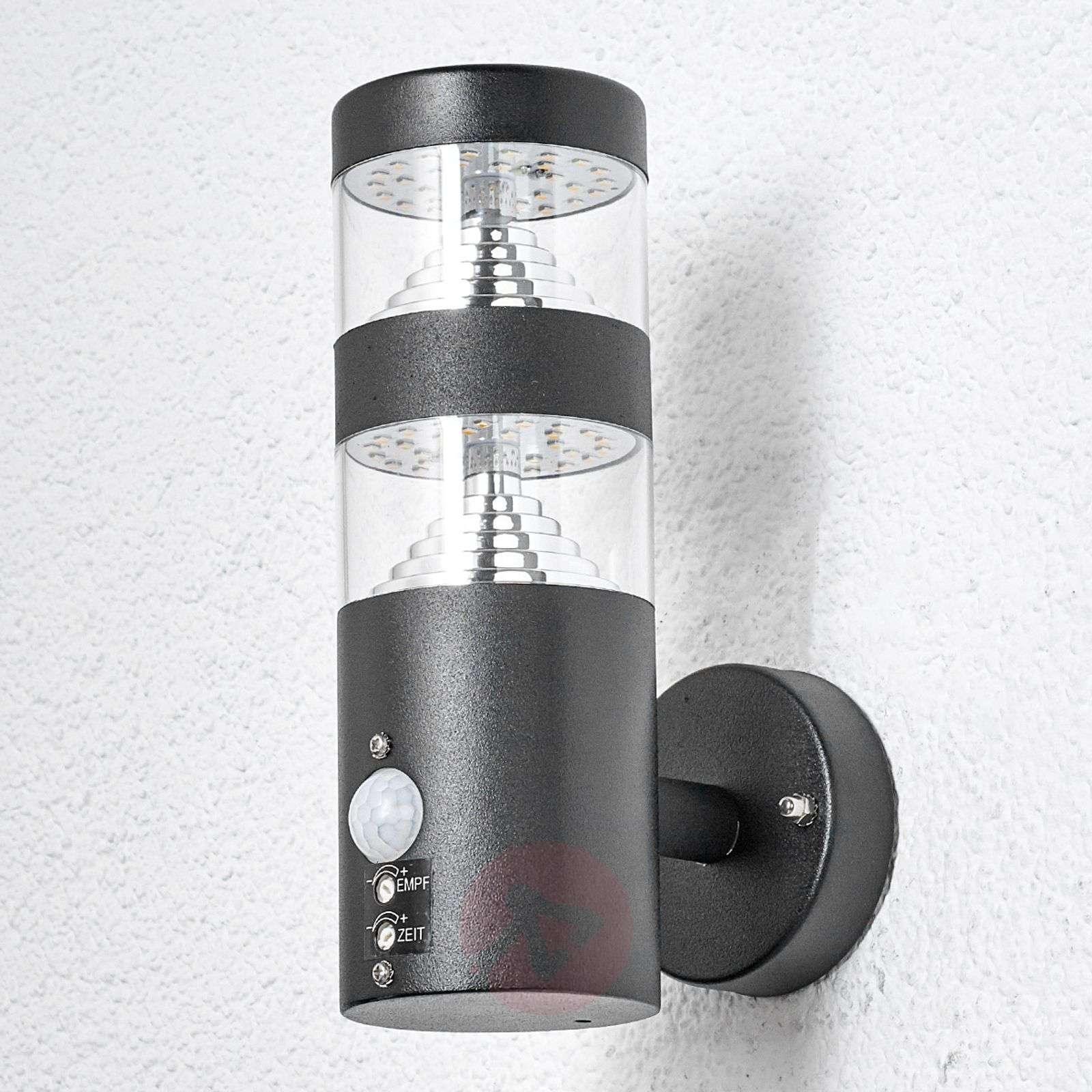 Lanea sensor outdoor wall light with LED-9988046-01