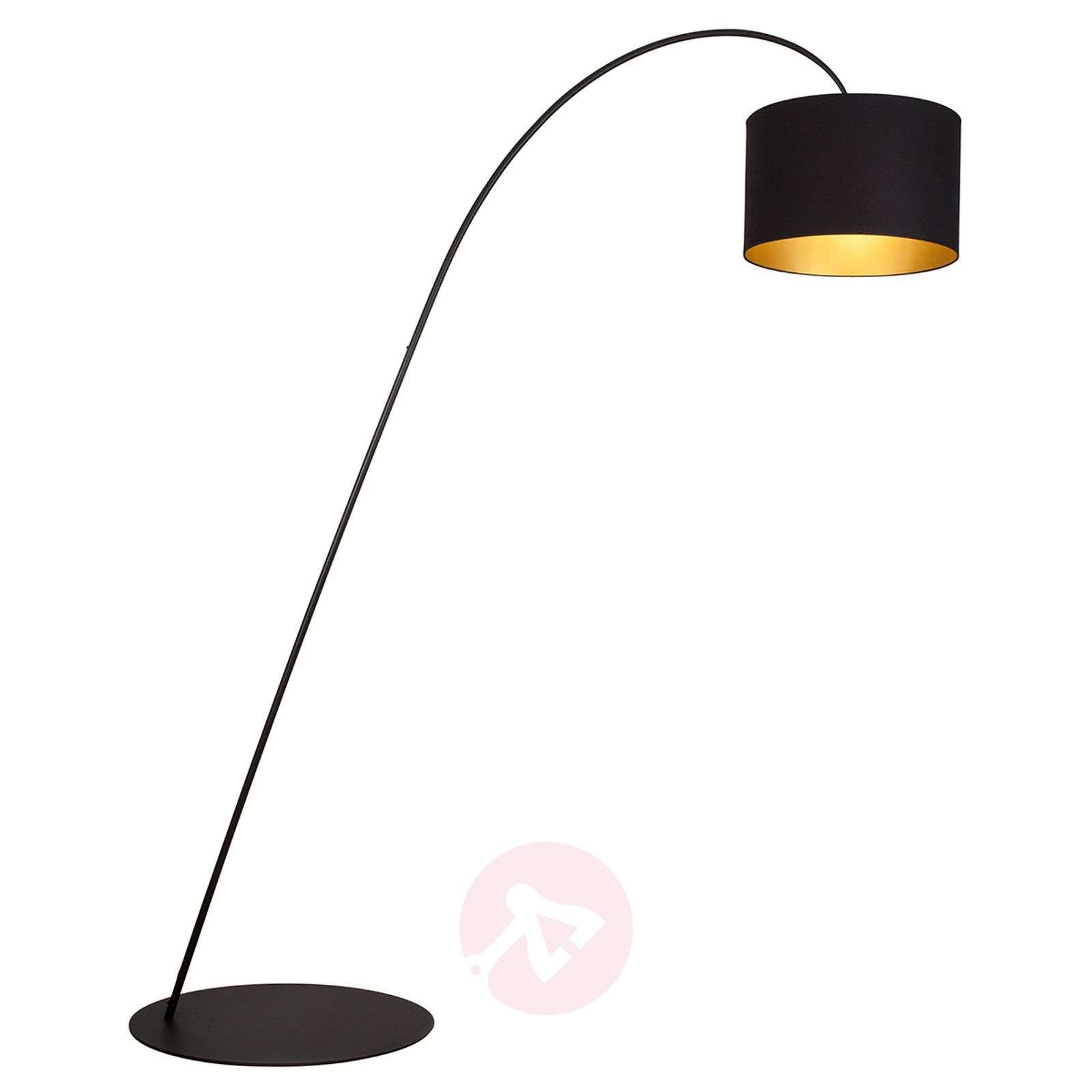 Awesome Large Arc Floor Lamp Giraffe In Black 1508952 01 ...
