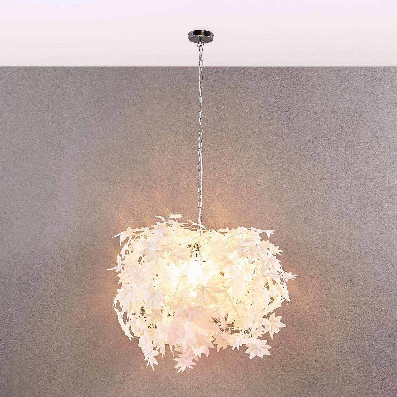 Large hanging light Maple with leaf decoration-9621124-02