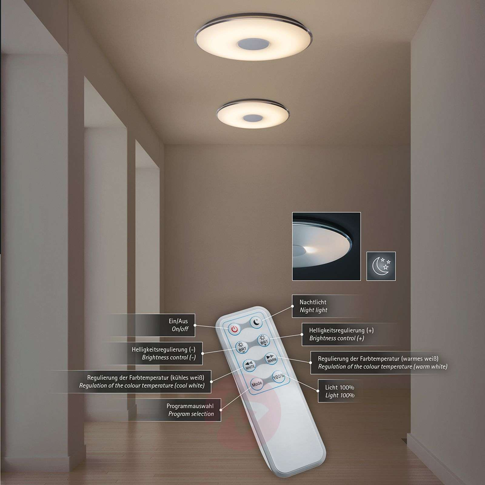 ceiling remote rings new lobby from designer aluminum lamp living for modern light ceilings led body control room in kitchen square lights item