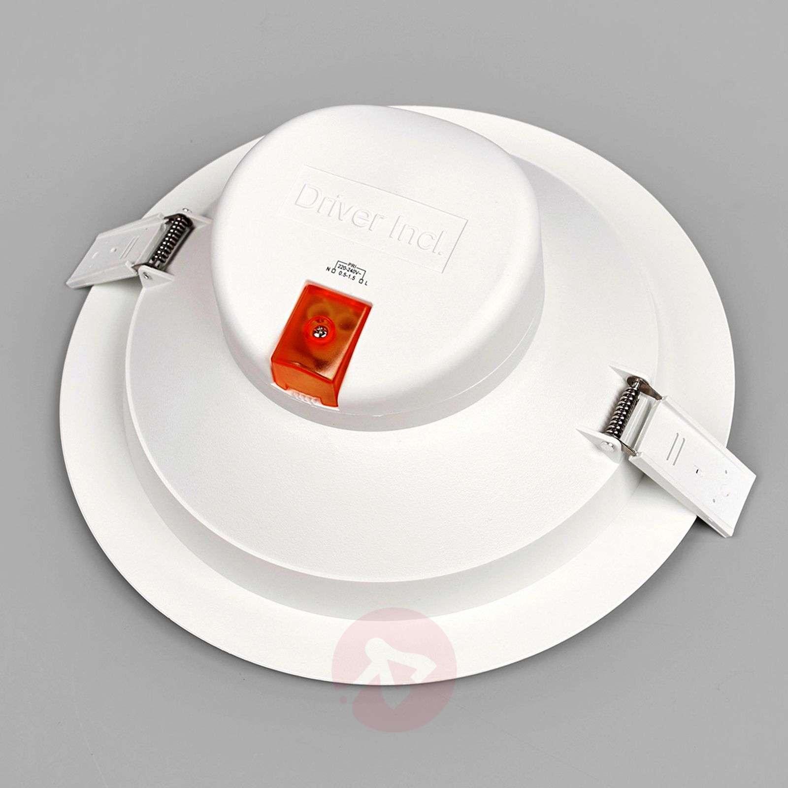 Large LED recessed spotlight Arian, 24.4 cm, 22.5W-9978012-04