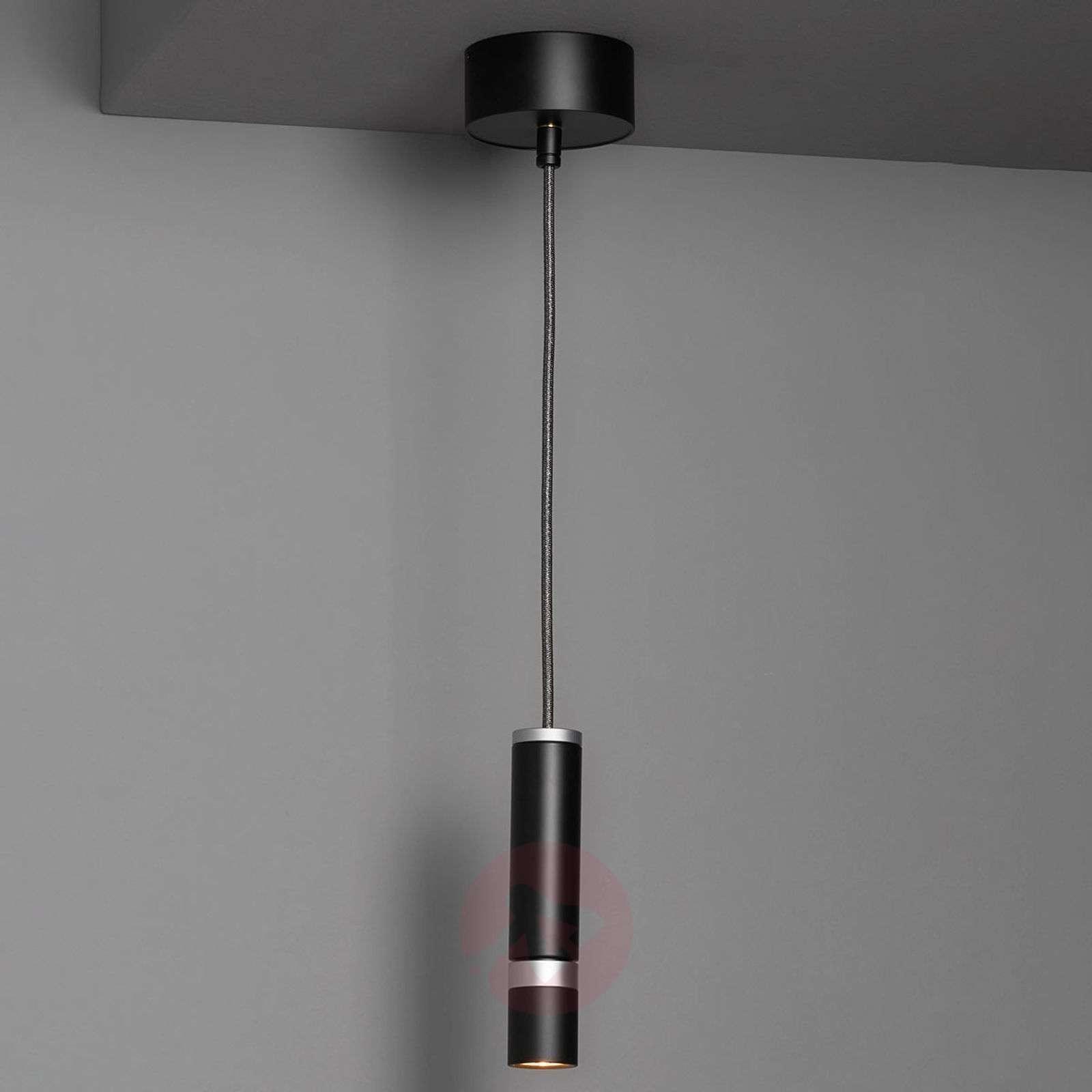 LDM Kyno Tavolo Uno LED hanging light, matt black-6101037-01