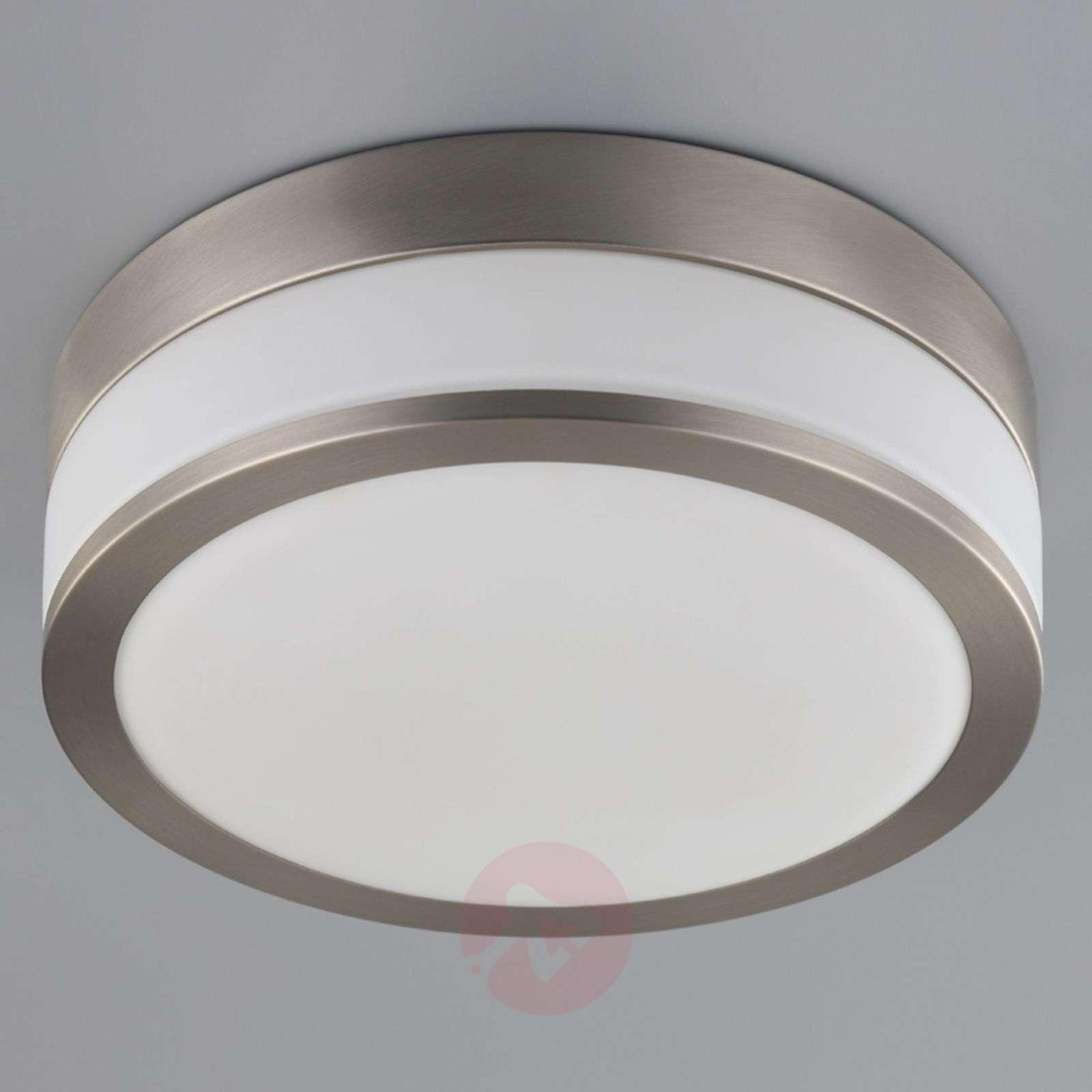 led bathroom ceiling lamp flavi matt nickel 9620634 011 - Led Bathroom Ceiling Lights