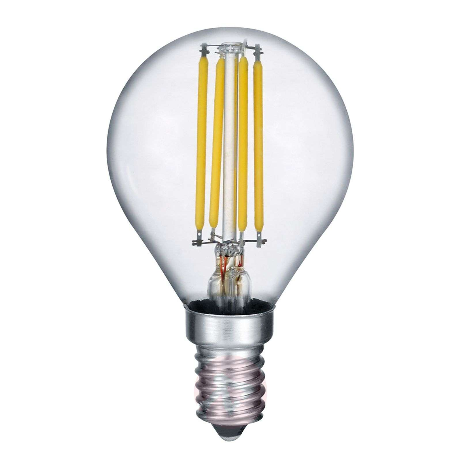 LED bulb E14 4 W filament, 2,700 K switch dimmer-9004818-01