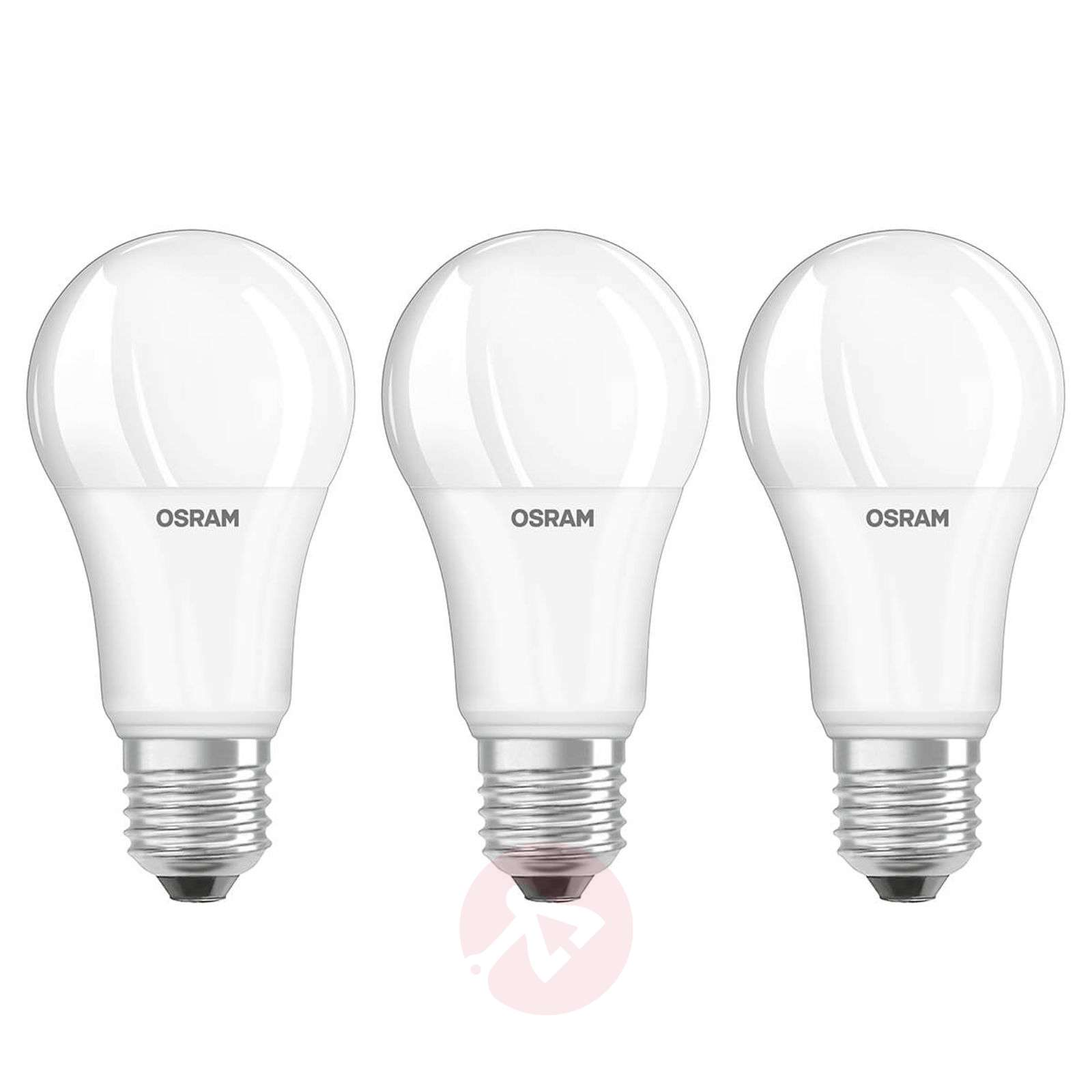 LED bulb E27 14 W, warm white, set of 3-7262103-01