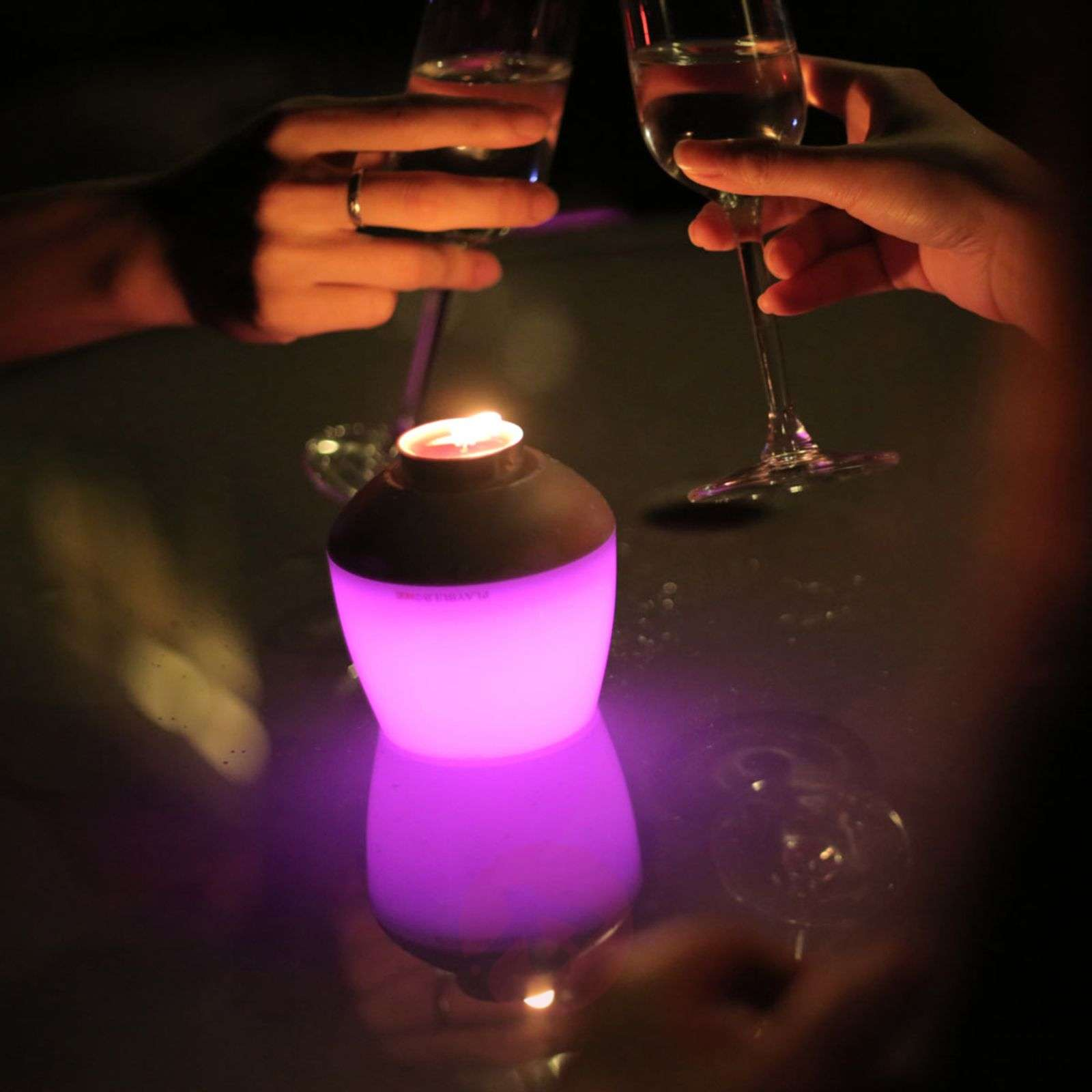 LED candle light Candle with colour change-9018036-01