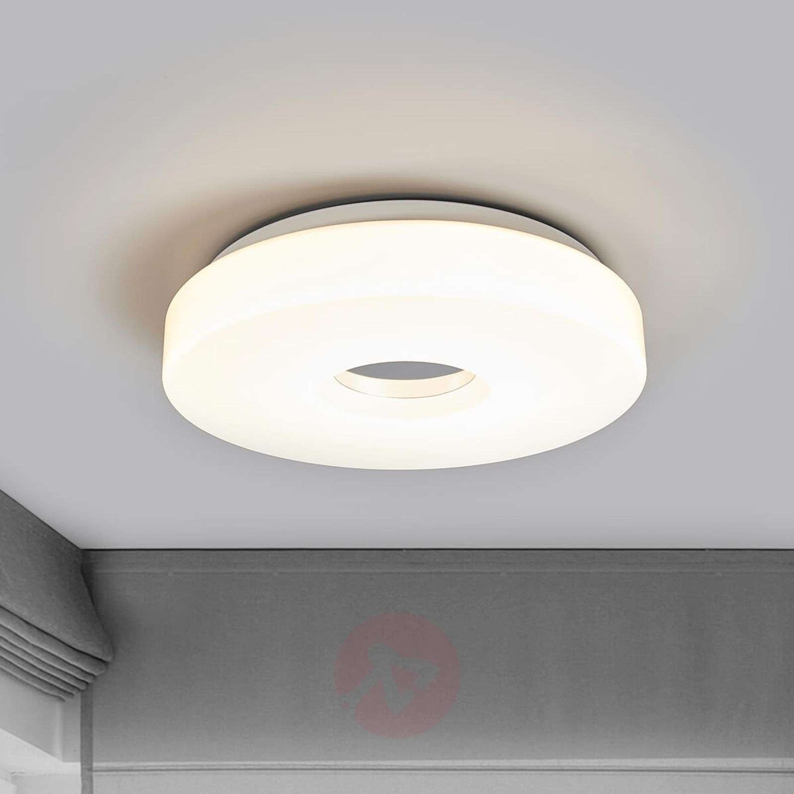 LED ceiling lamp Levina with chrome centre-9974020-01
