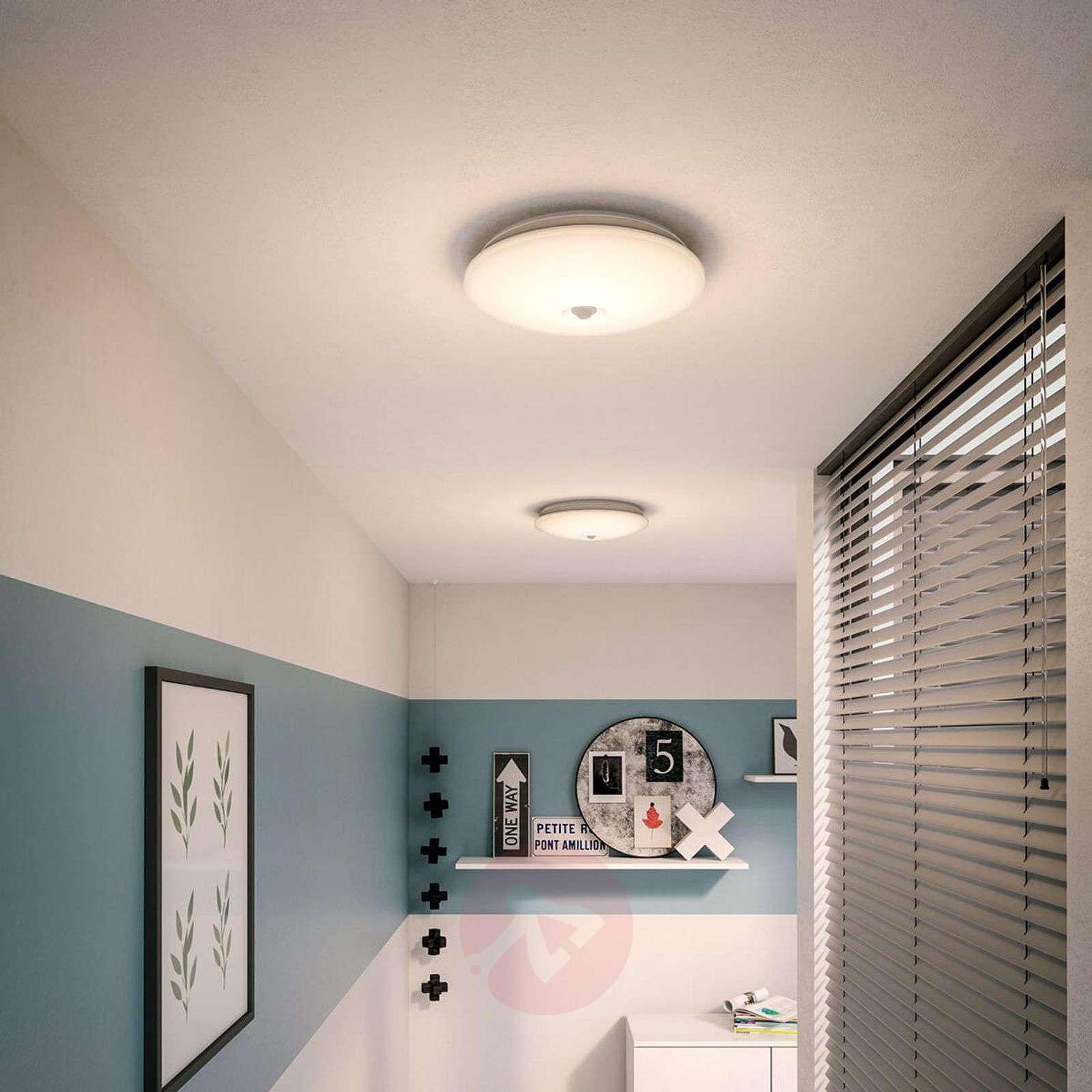 LED ceiling lamp Mauve, IR sensor, diameter 32 cm-7531984-01