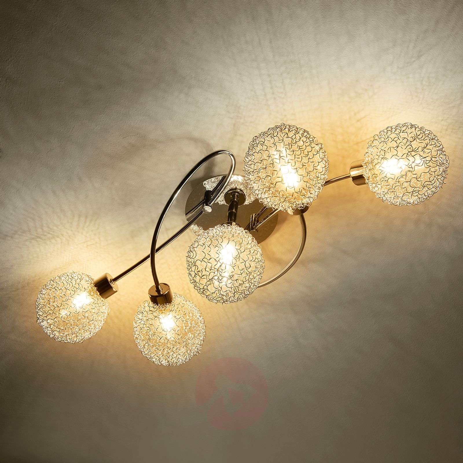 LED ceiling lamp Ticino in a playful style-9620782-04