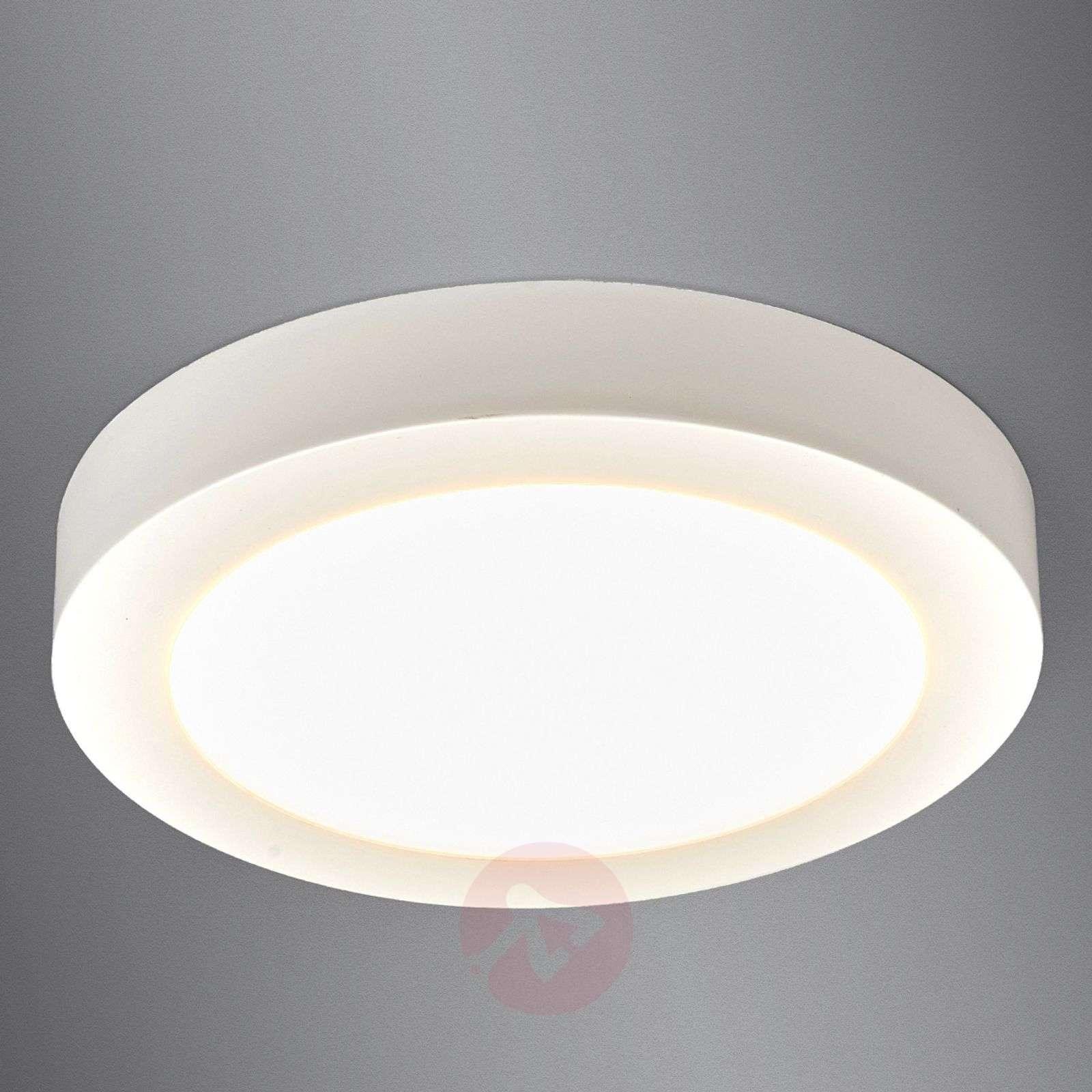 LED ceiling light Esra in white, IP44-9978021-016