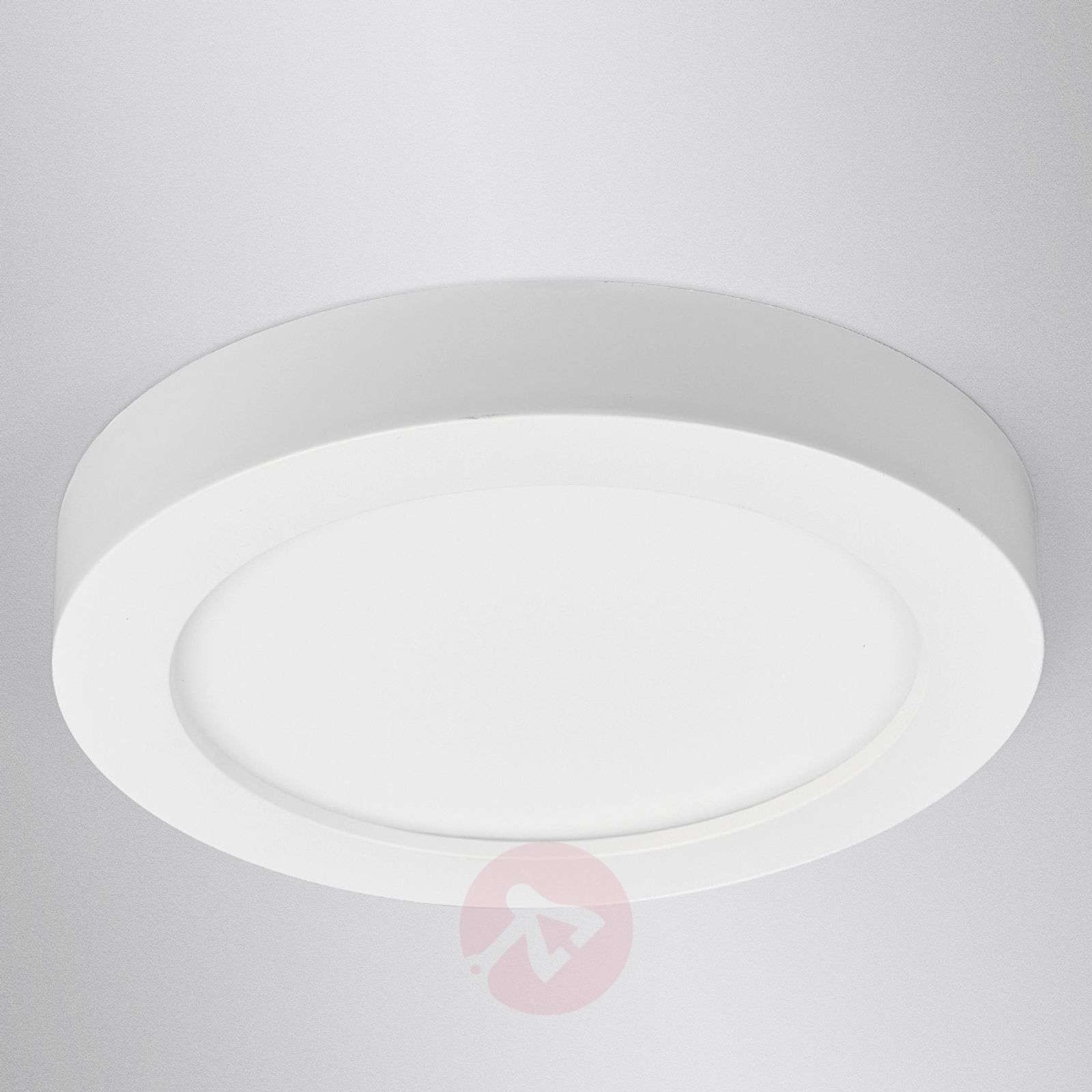 LED ceiling light Esra in white, IP44-9978021-016