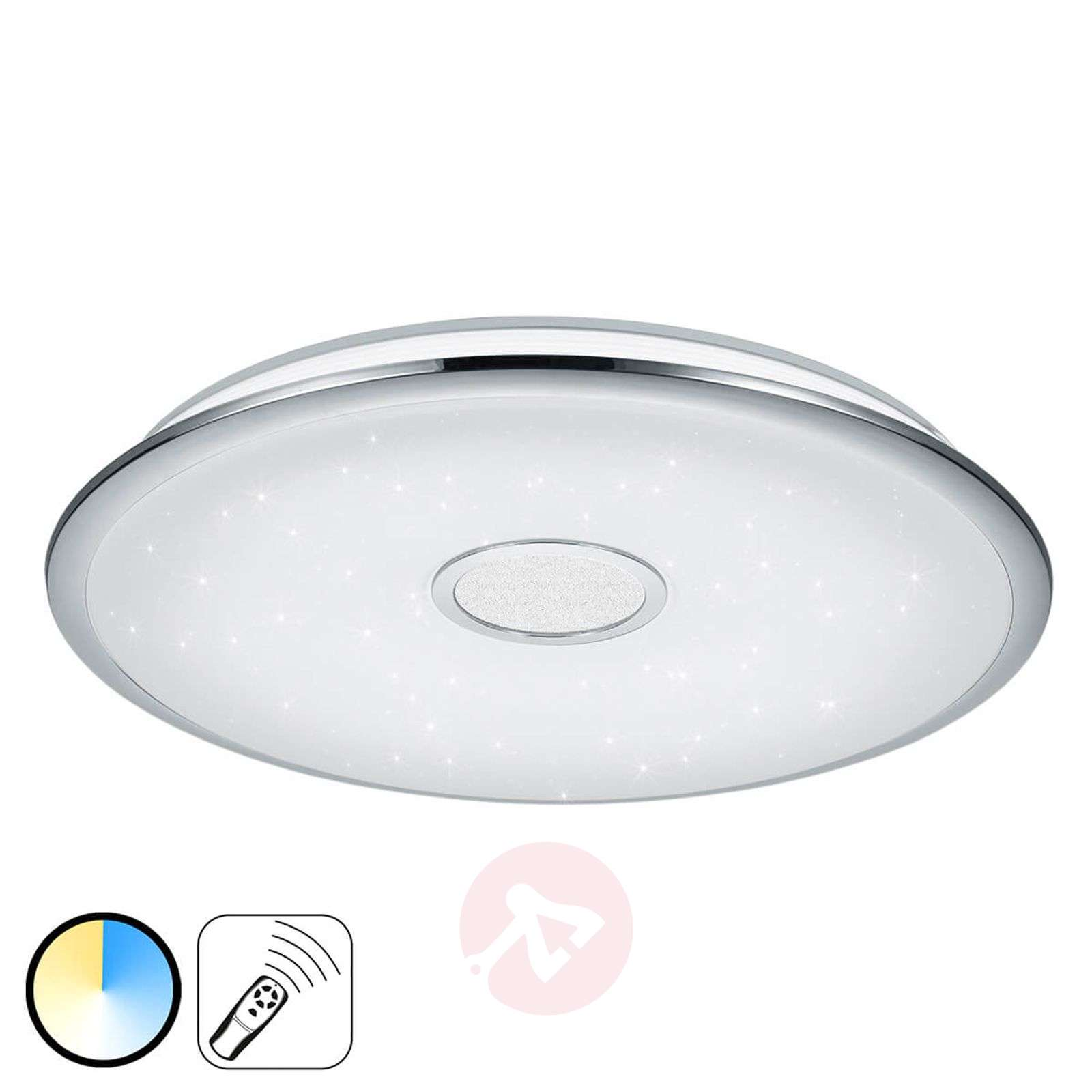 control ceiling lamp fixture crystal modern light bedroom pin home lustre living lighting led room for remote ceilings