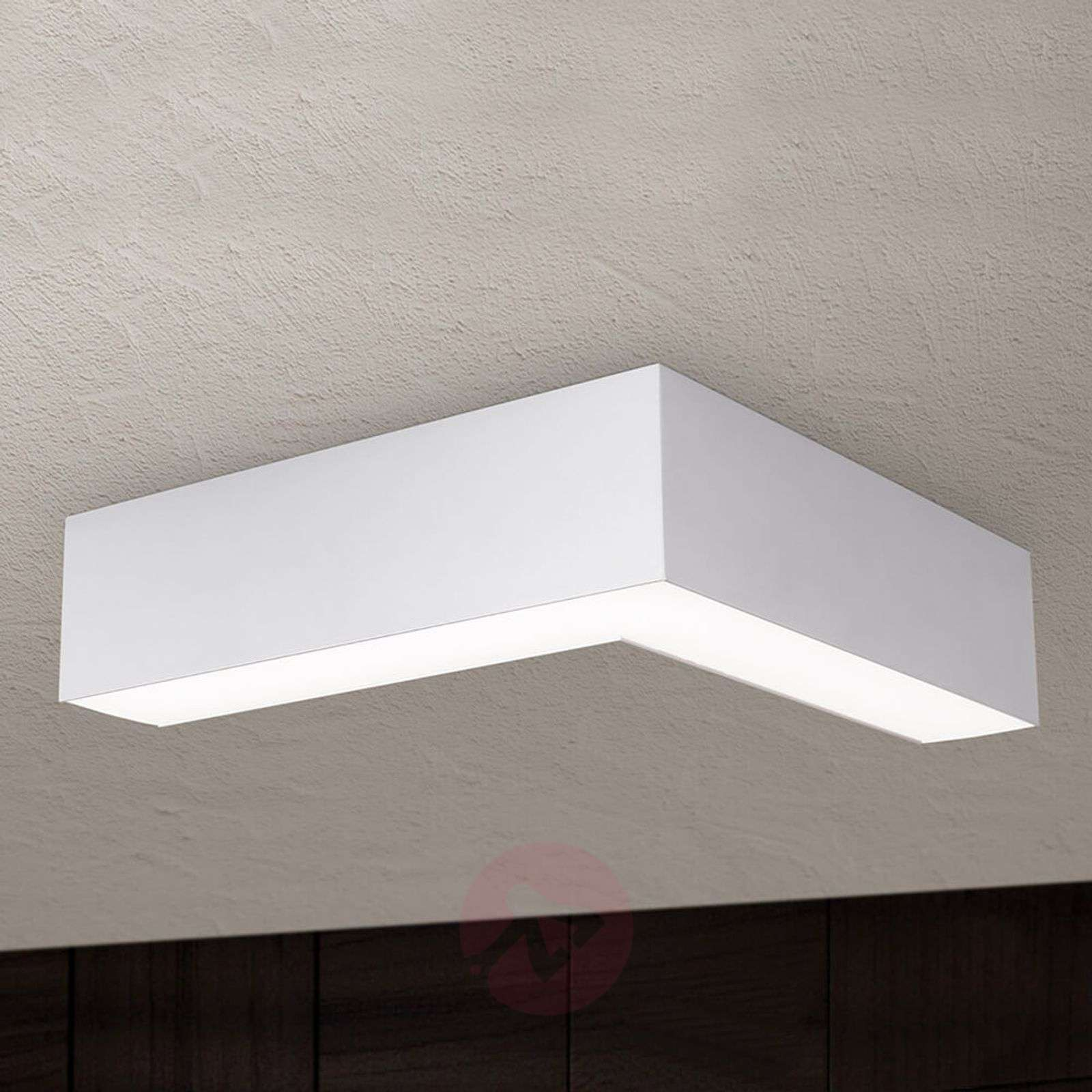 LED ceiling light Sando, suspension kit 30x30 cm-7255318-01