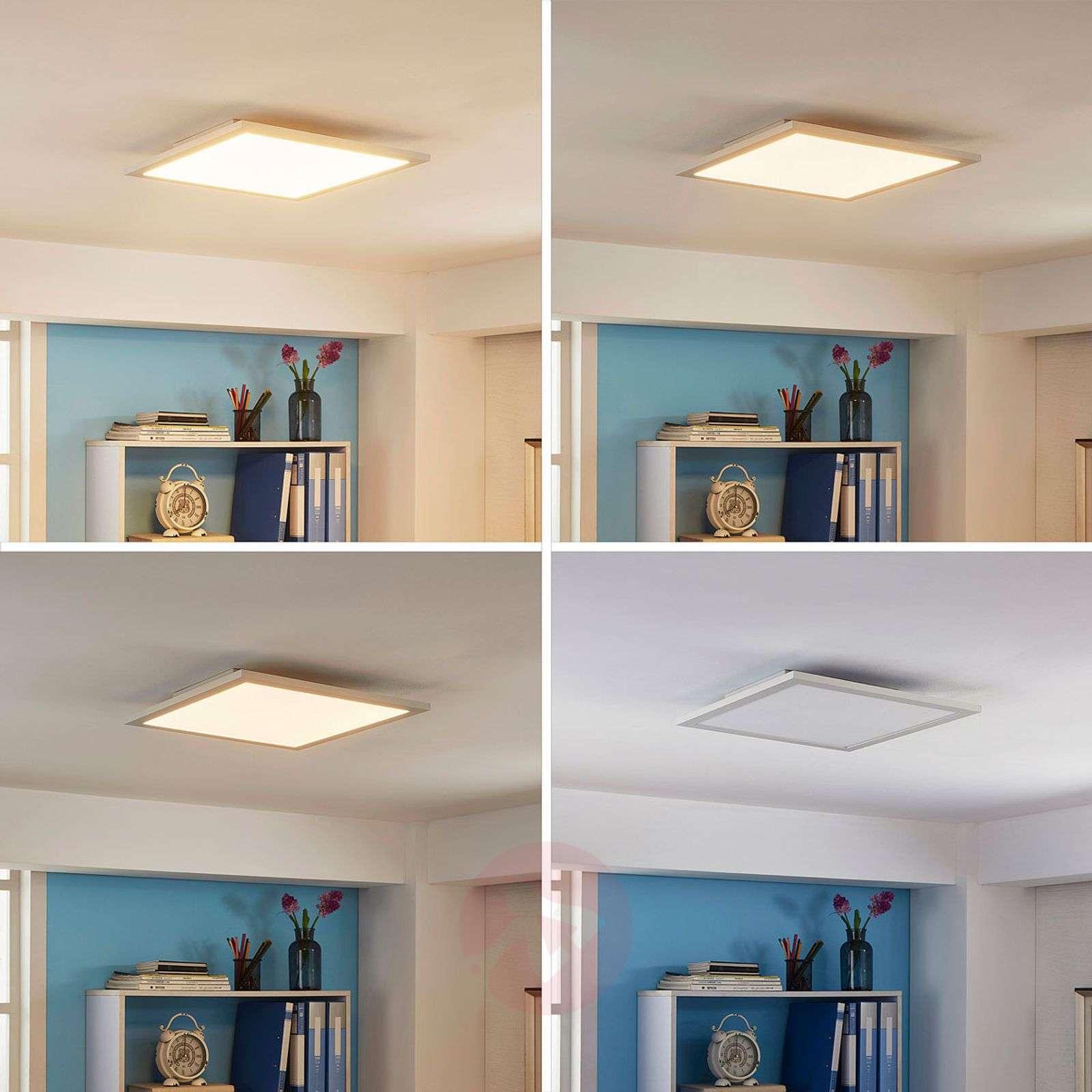 LED ceiling panel Enja, square-9621530-02