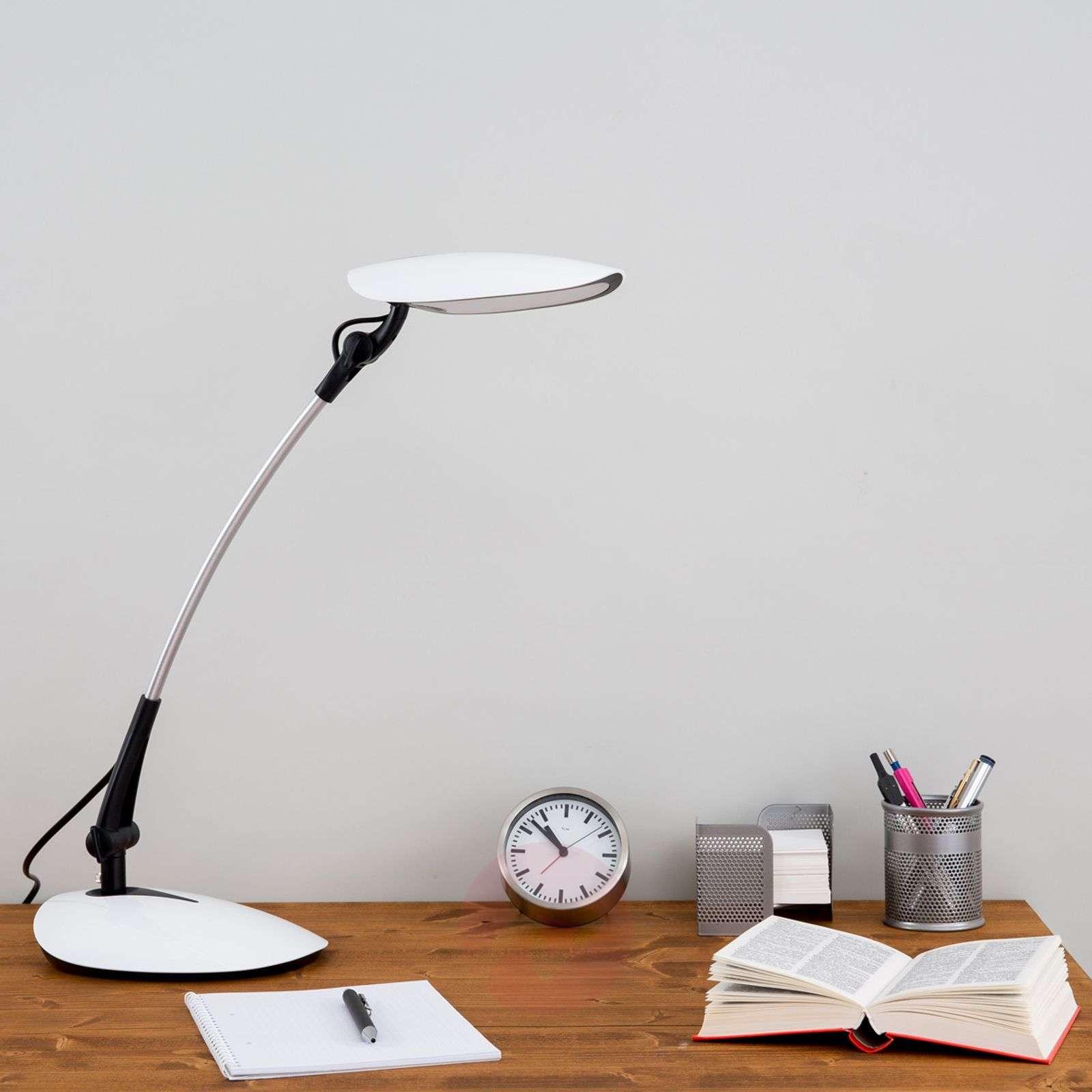LED desk lamp Havin in white-9643020-01