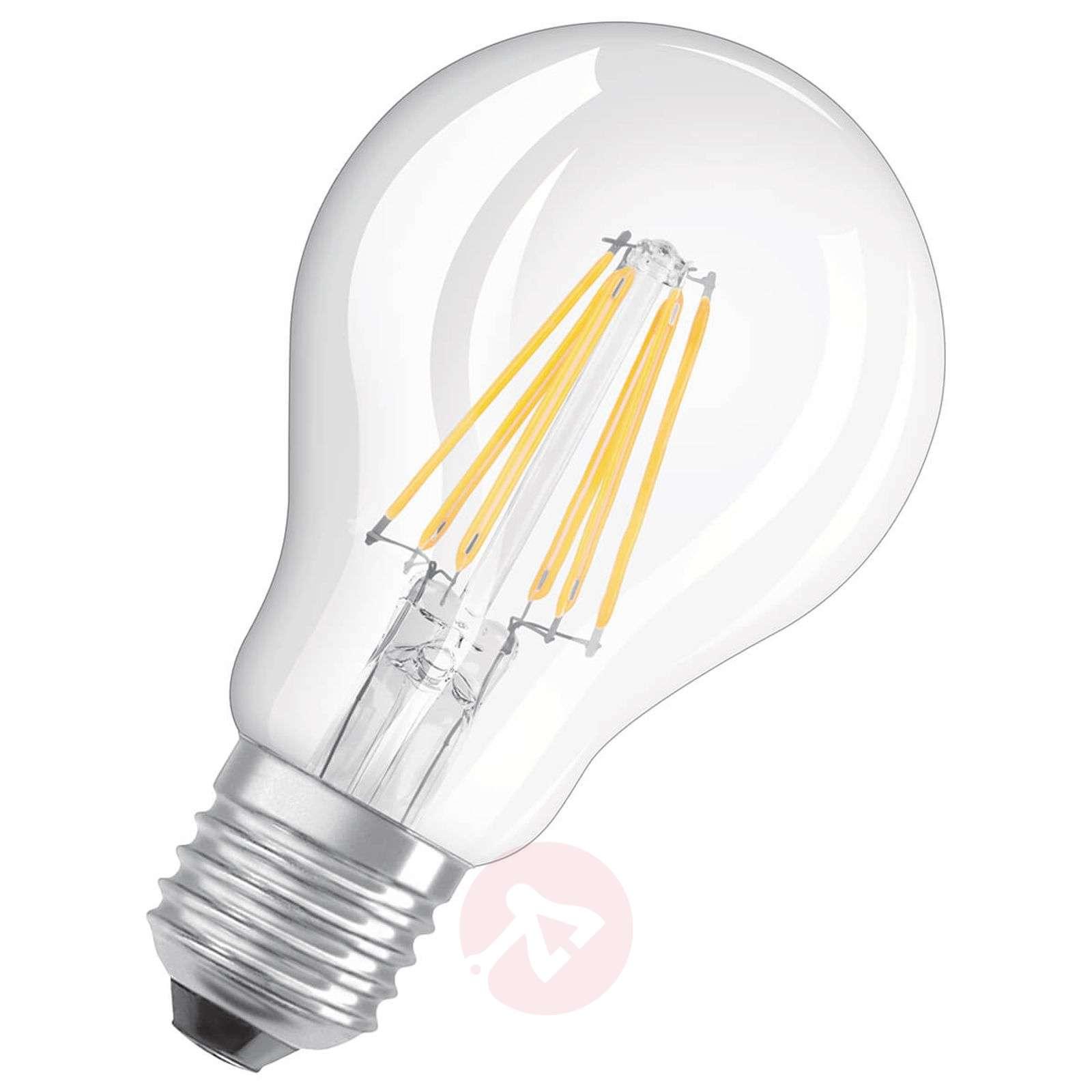LED filament bulb E27 6 W, warm white, set of 3-7262097-01