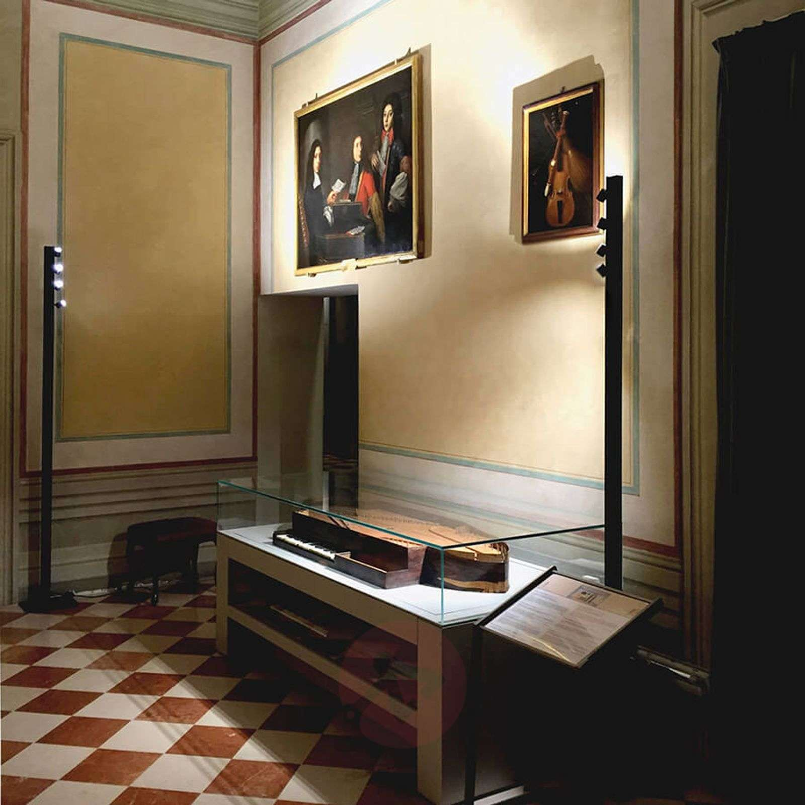 LED floor lamp Accademia with four LED spotlights-3039221-01