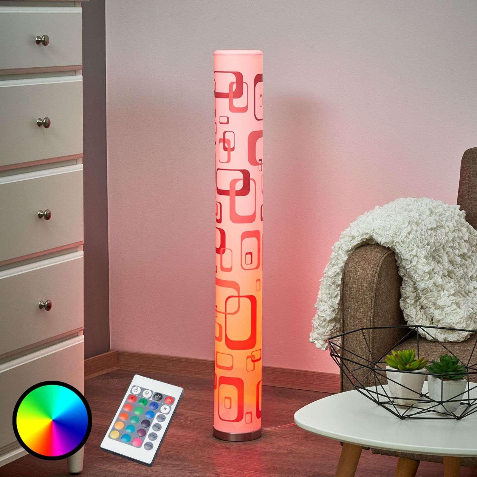 Retro Lampen Led : Led floor lamp mirella with retro effect gu10 rgb lights.ie