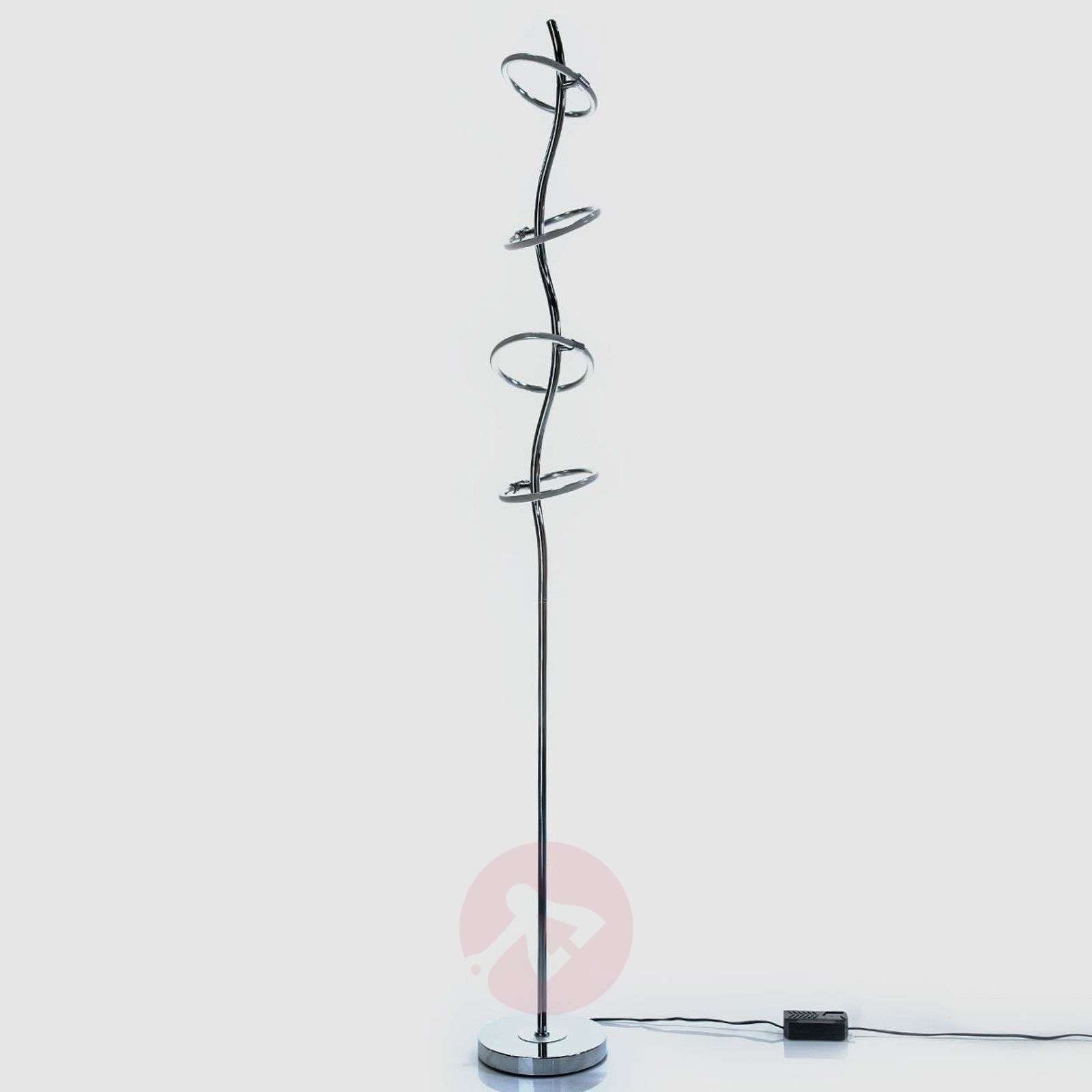 Led Floor Lamp Olympus With Dimmer Four Bulb Lights Ie