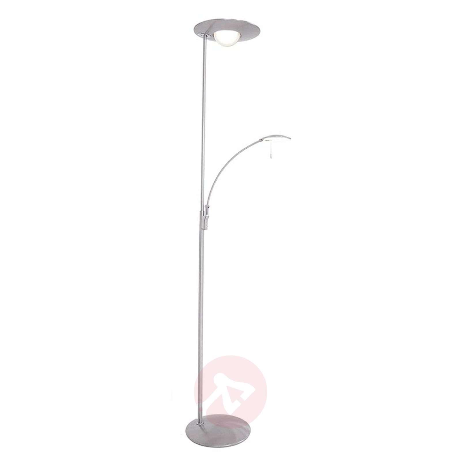 LED floor lamp Zenith with reading light, dimmer-8509710-01