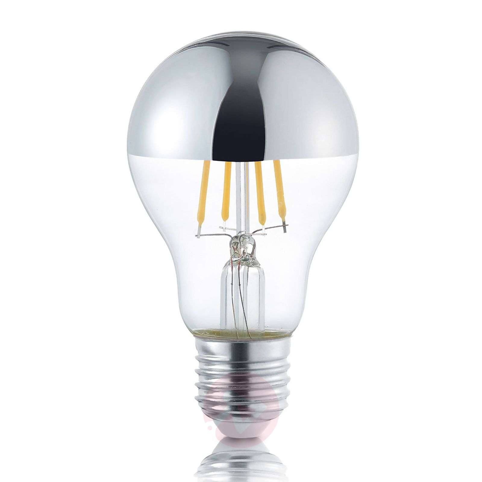 LED half mirror bulb E27 4 W, warm white-9004816-01
