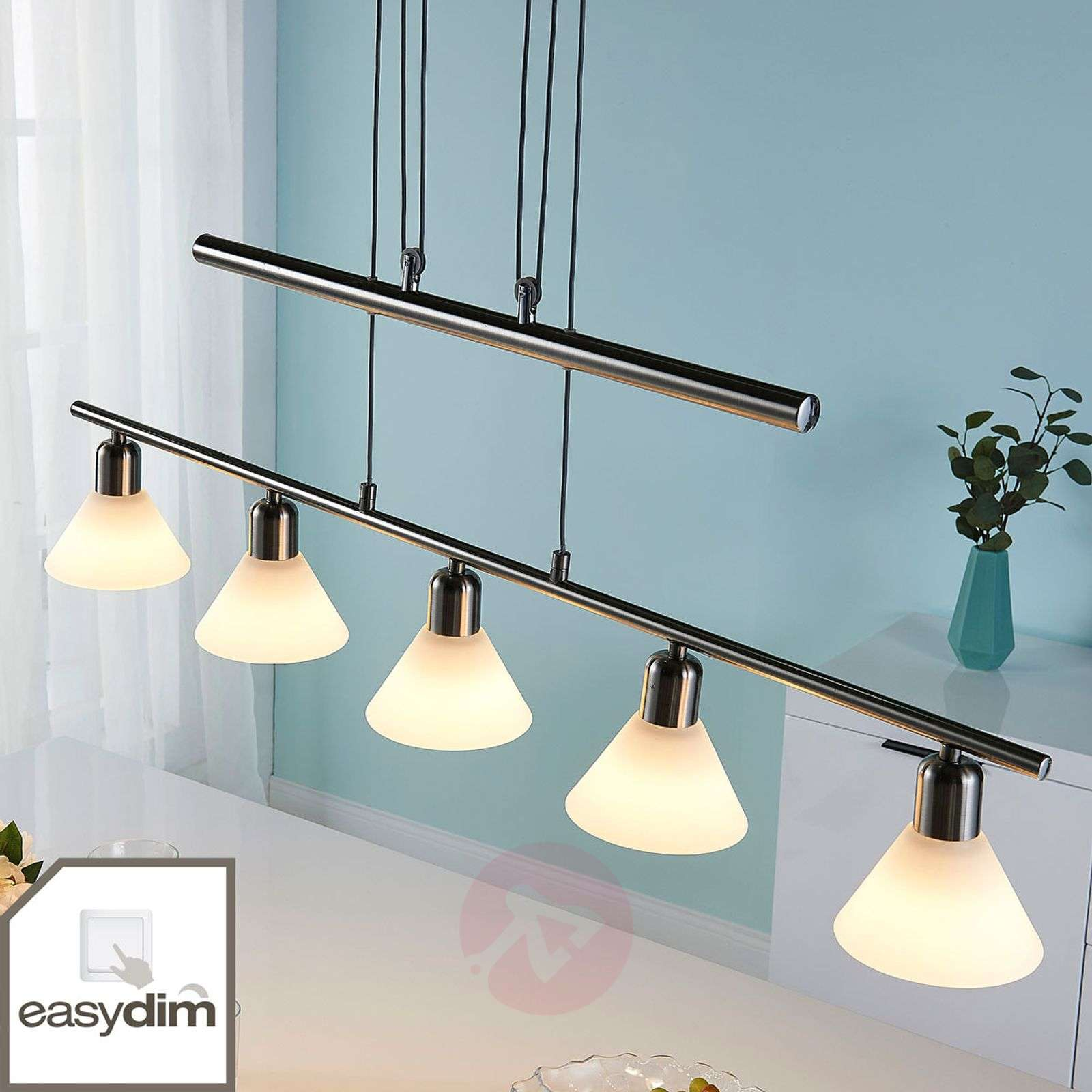 LED hanging lamp Eleasa dimmable by a switch-9621388-02