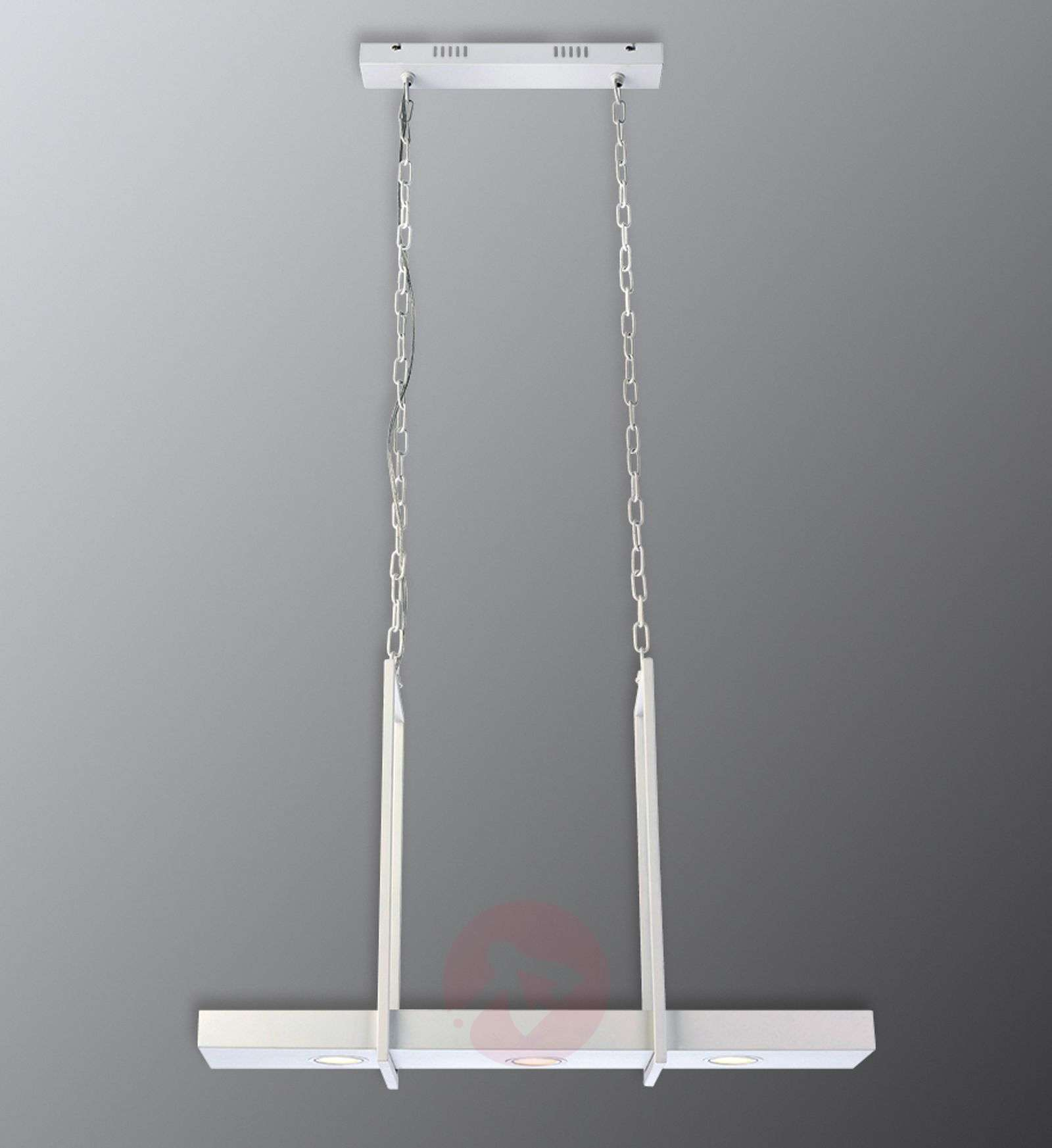 LED hanging light Tray in white-6505587-01
