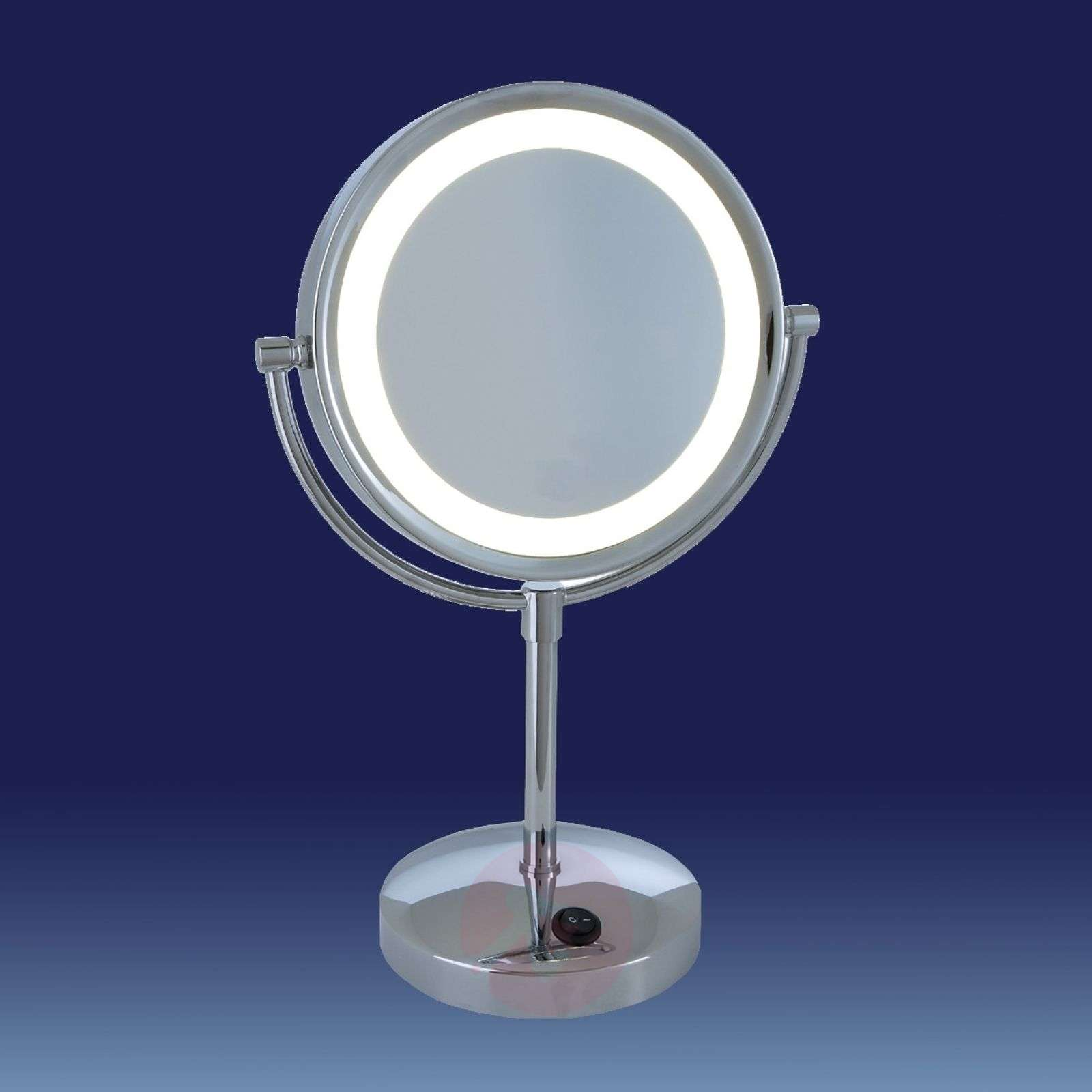 LED-illuminated cosmetic mirror London-8507821-01