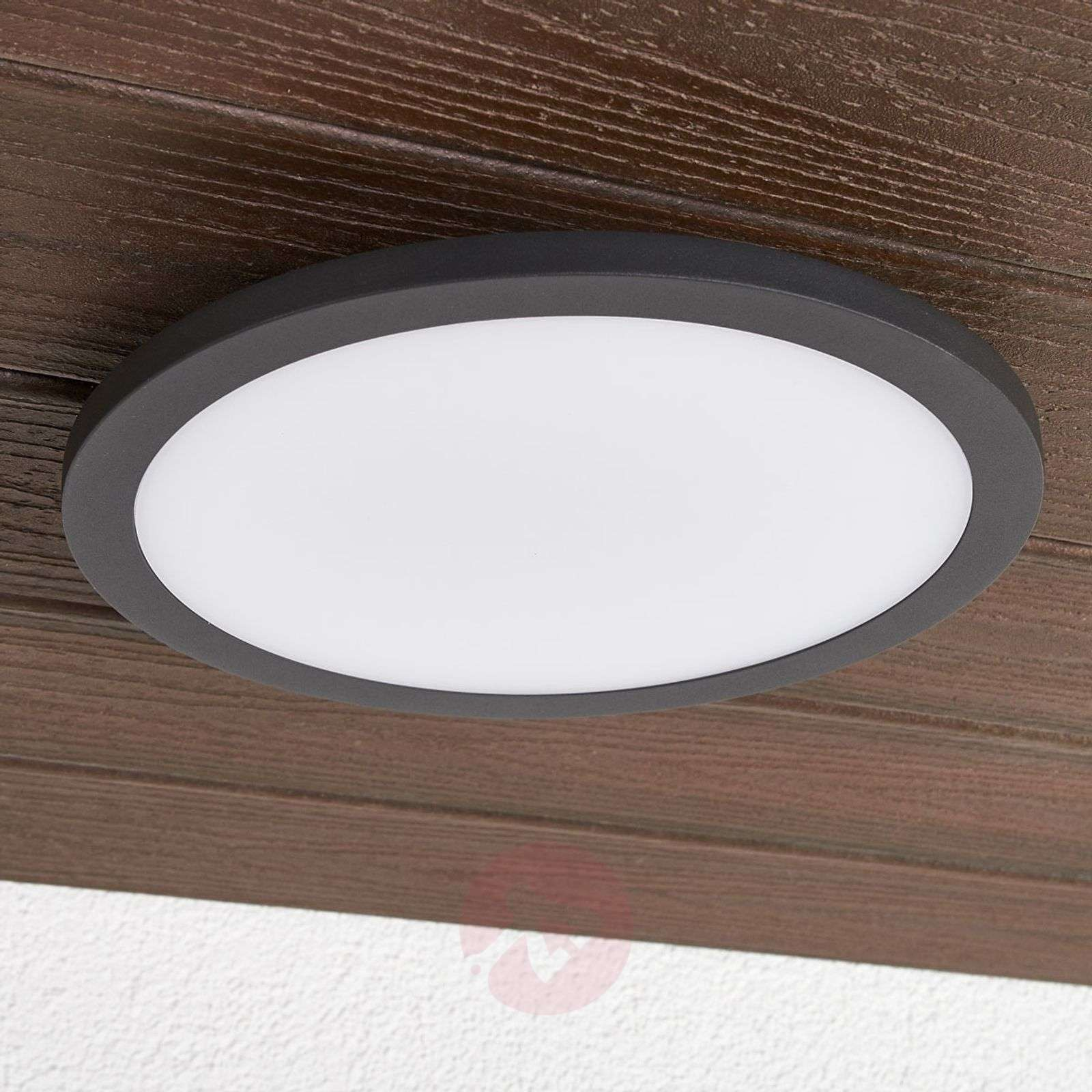 LED outdoor ceiling light Malena with sensor-9619112-03