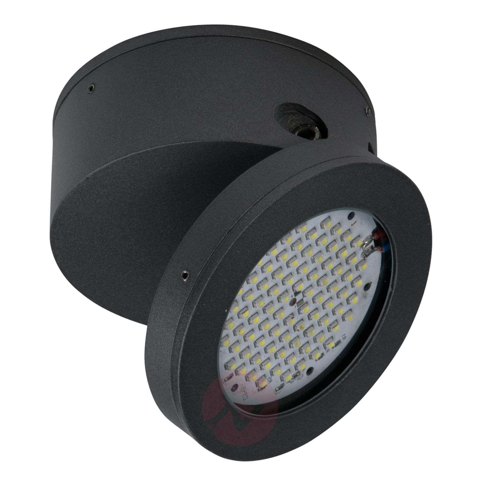 LED outdoor ceiling spotlight Functional in black-4000123-01