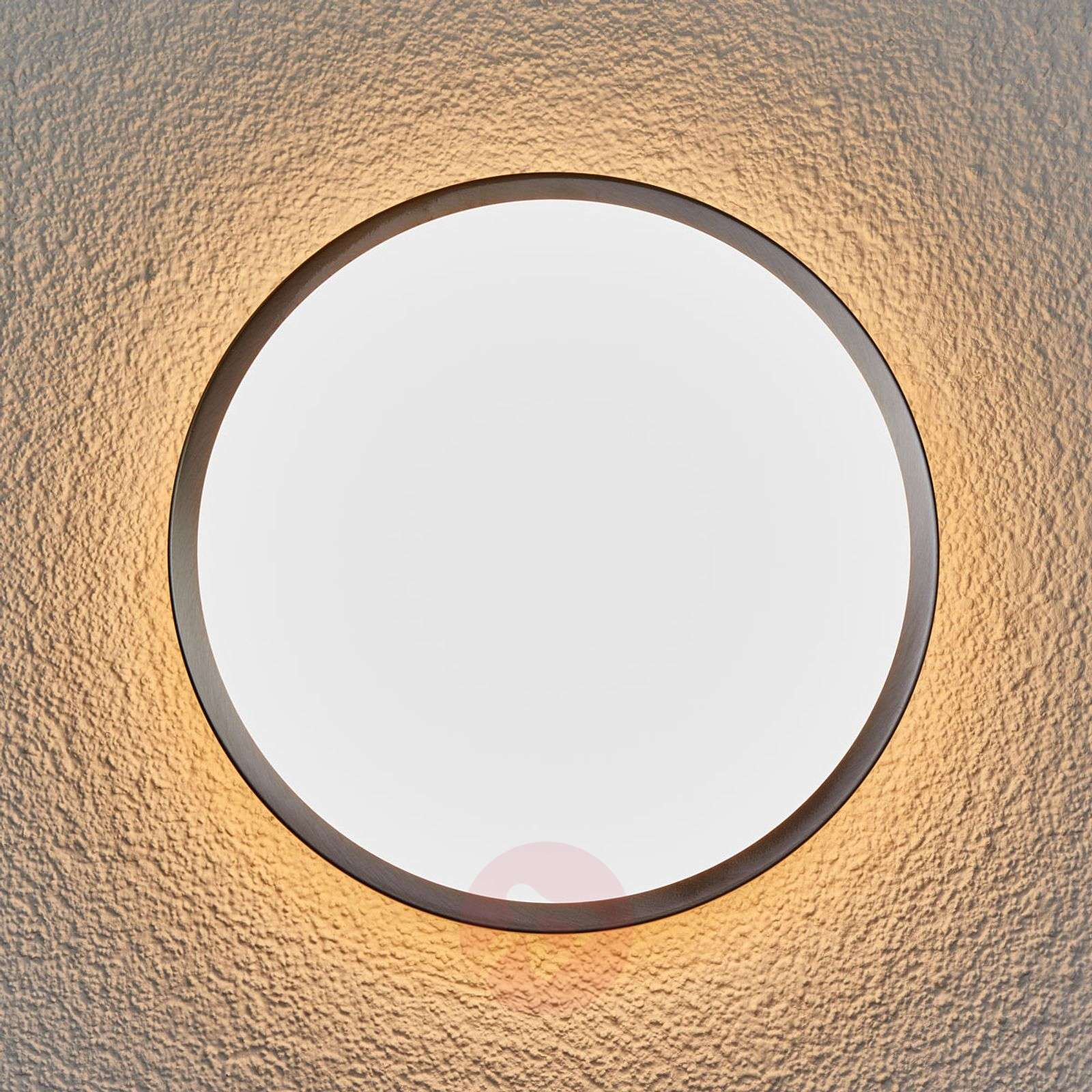 Led outdoor wall lamp noxlite circular with sensor lights led outdoor wall lamp noxlite circular with sensor 7261125 011 mozeypictures Image collections