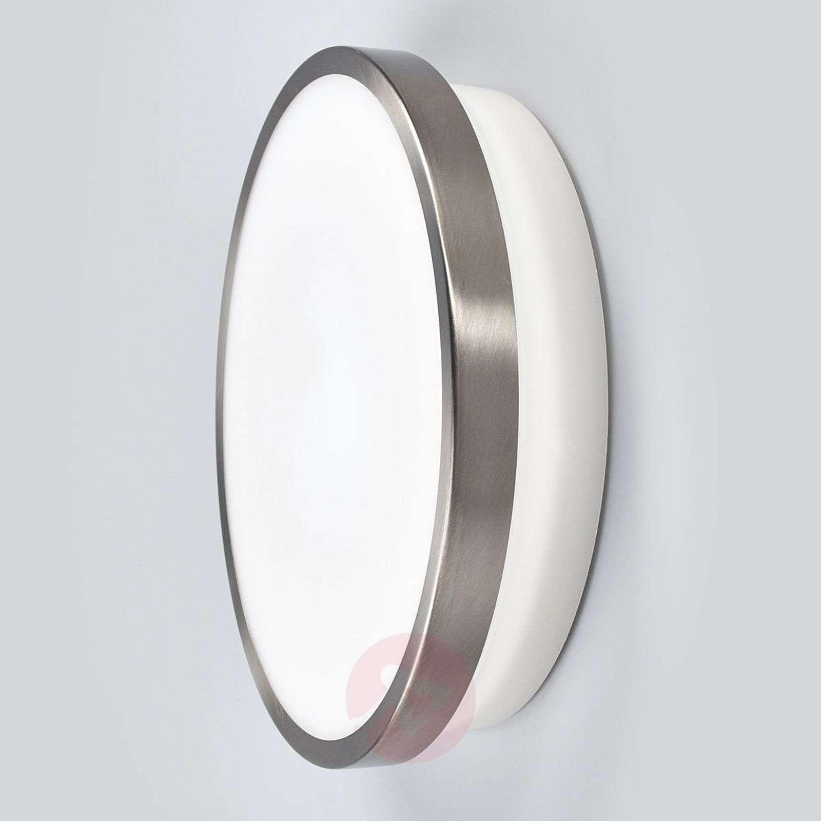 Led Outdoor Wall Lamp Noxlite Circular With Sensor