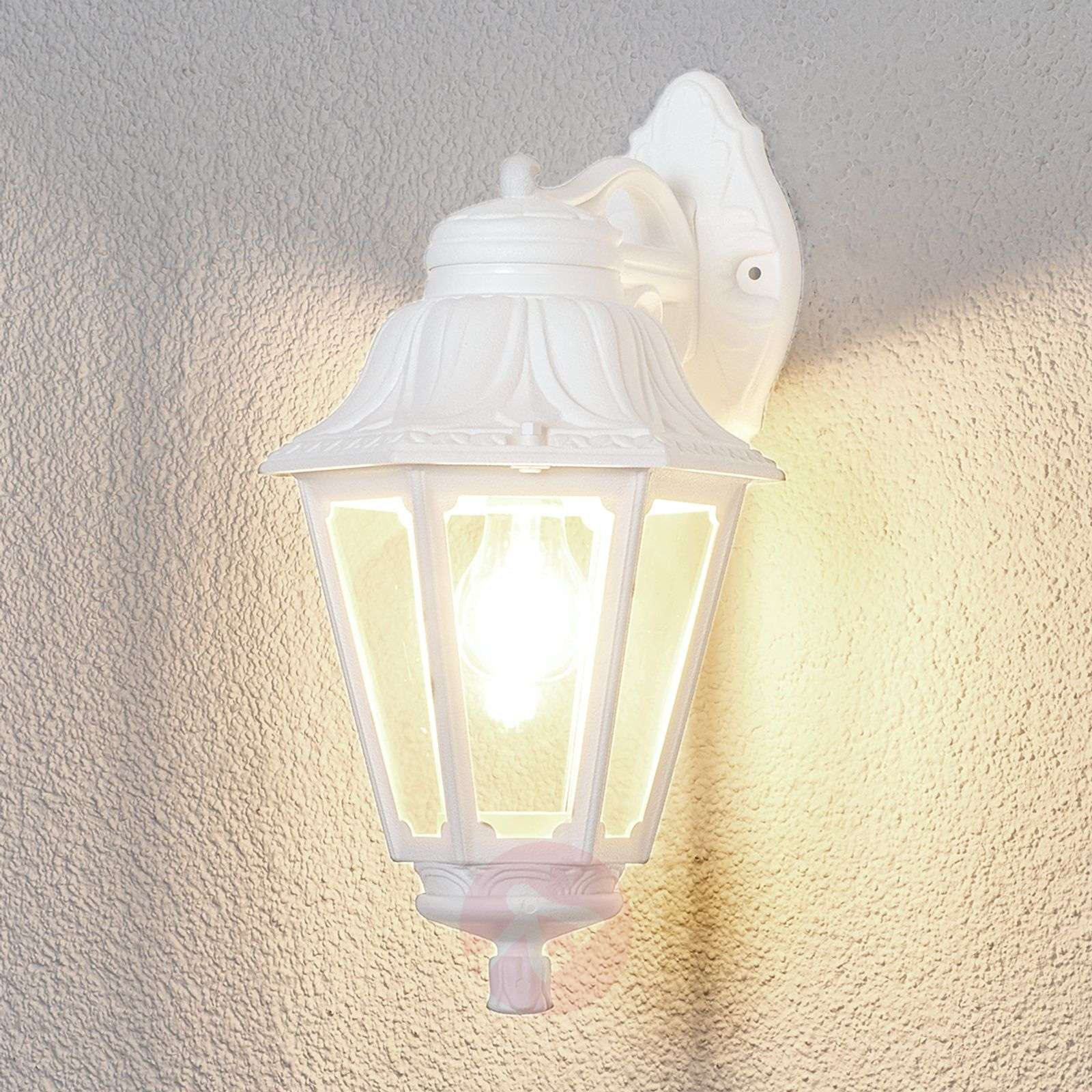 LED outdoor wall light Bisso Anna, lantern down-3538048-01