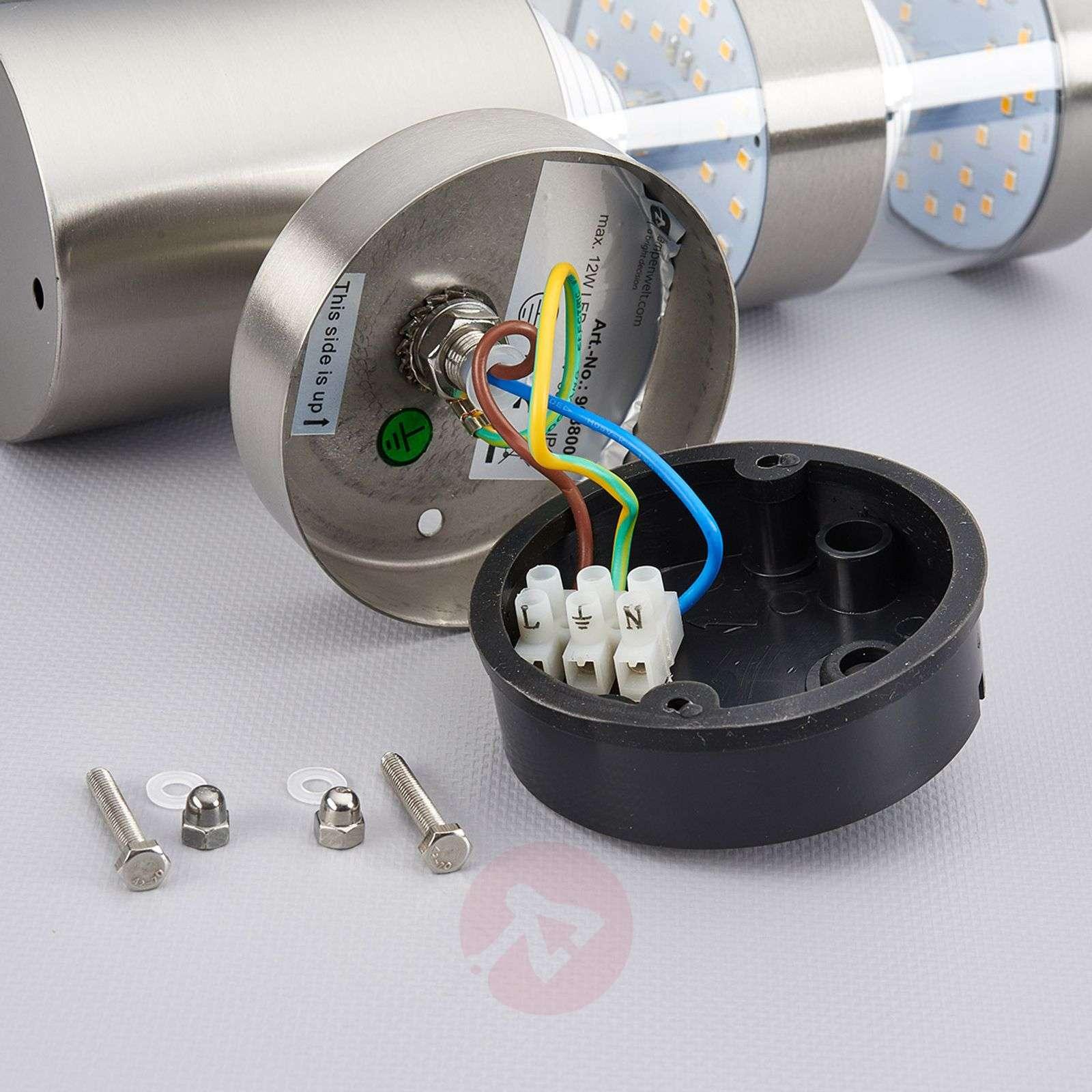 LED outdoor wall light Lanea with motion sensor-9988006-02