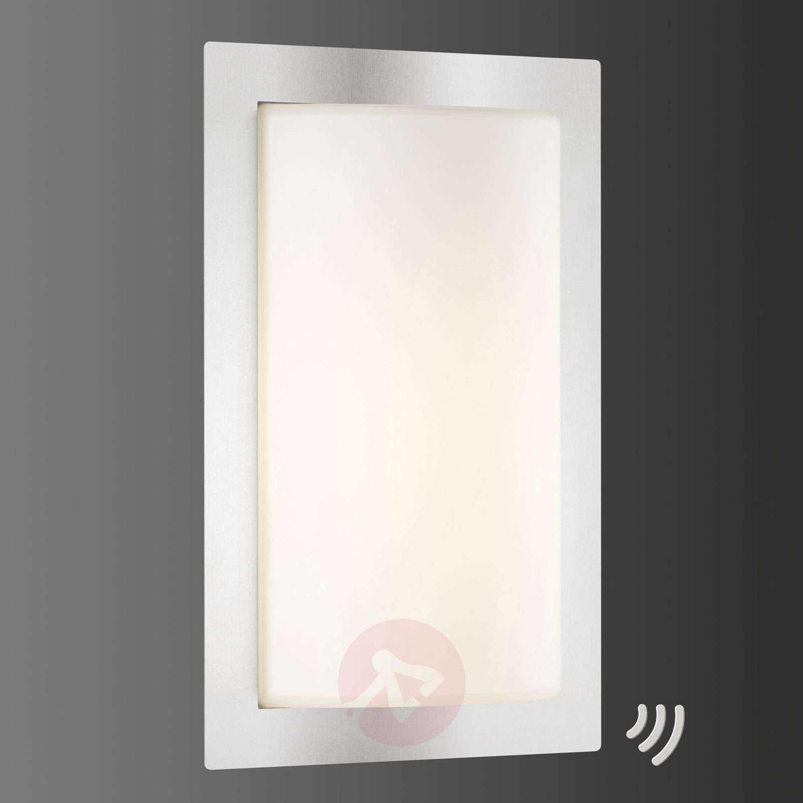 LED outdoor wall light Luis with motion detector-6068083-02