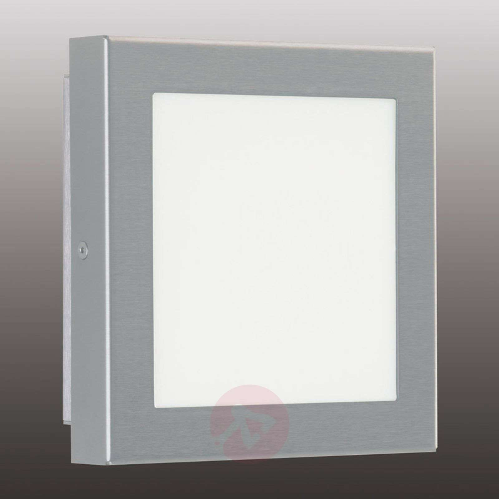 LED outdoor wall light Mette, stainless steel, 8 W-4000308-01