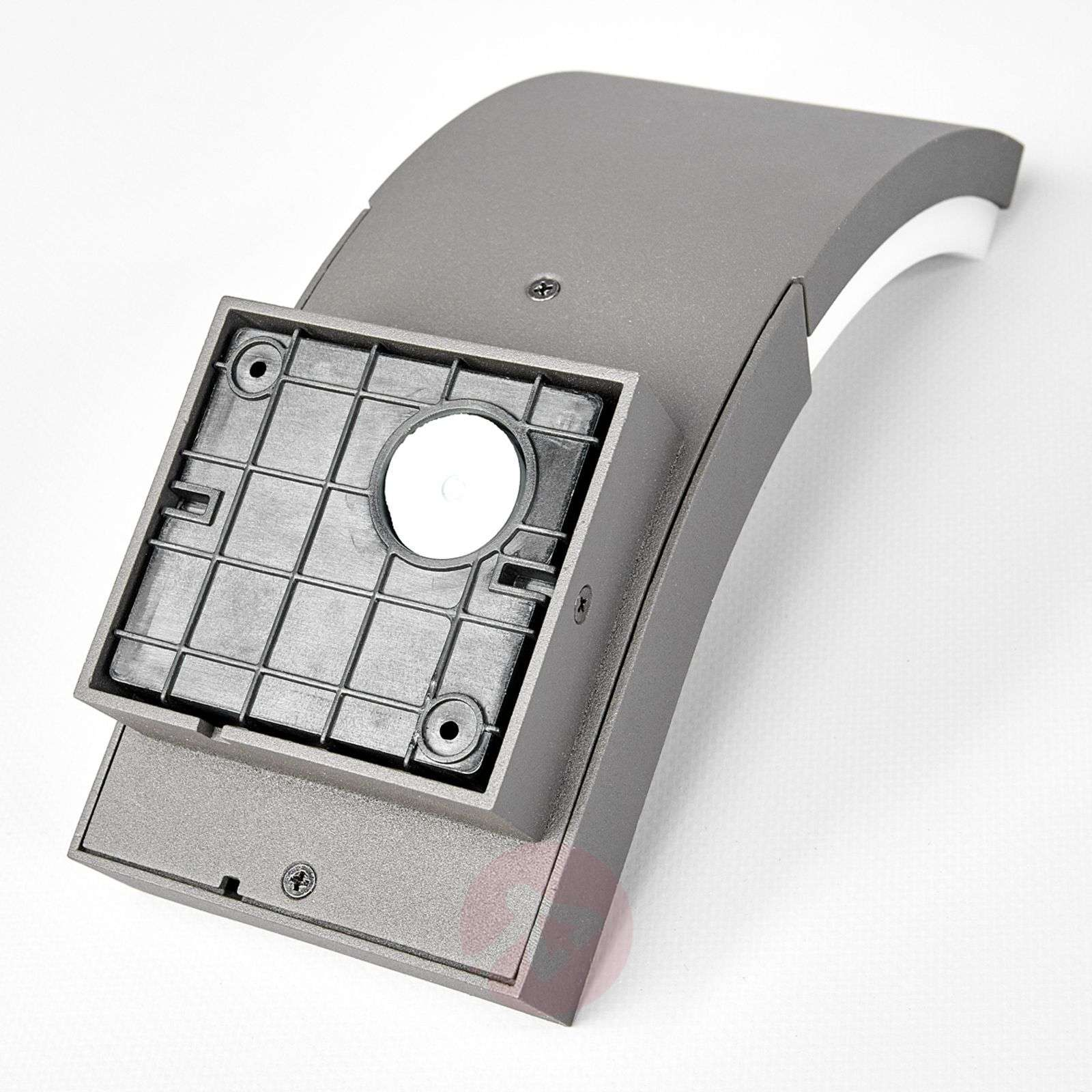LED outdoor wall light Timm with motion detector-9619049-03