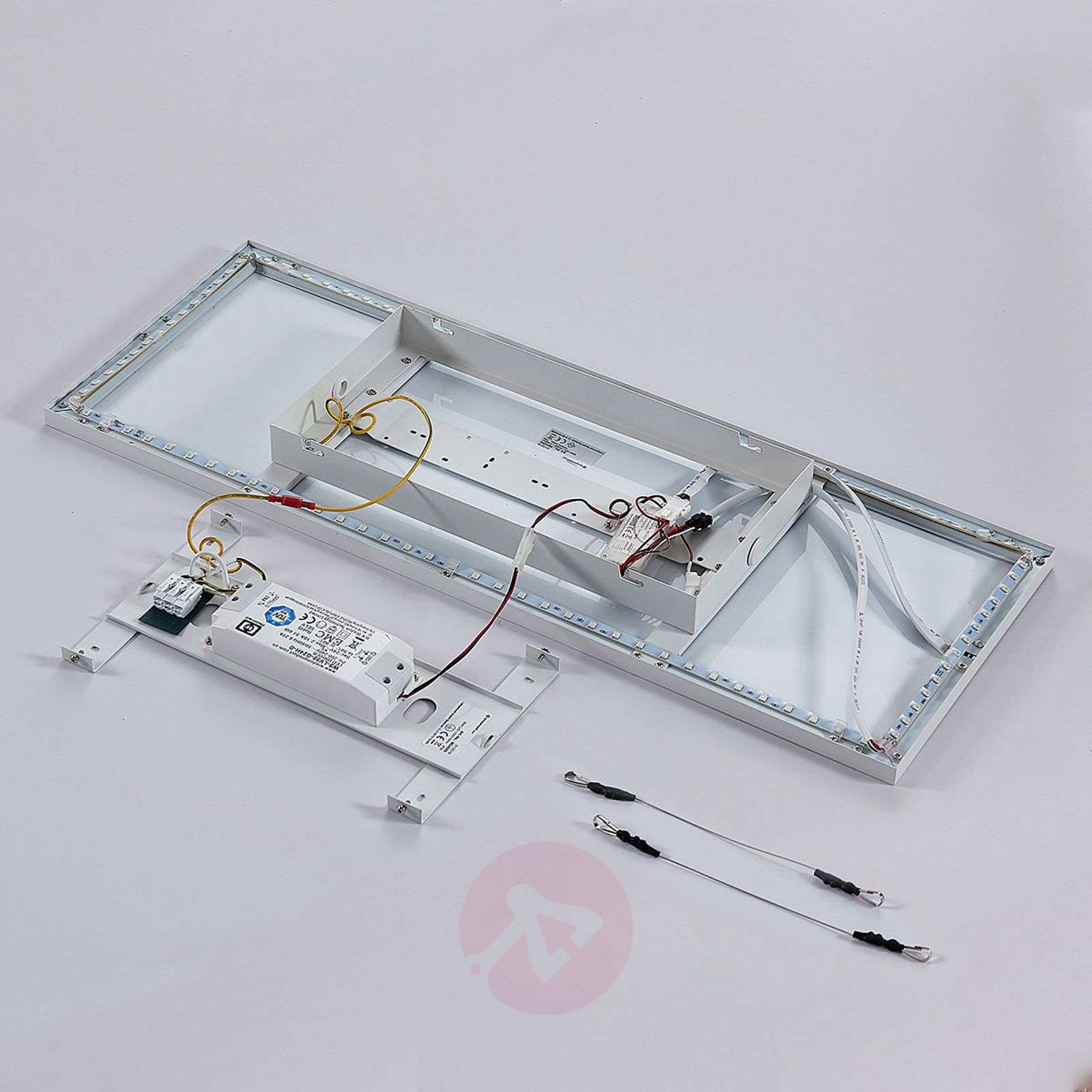 LED panel Brenda CCT with remote, 30 x 80cm-9624205-02
