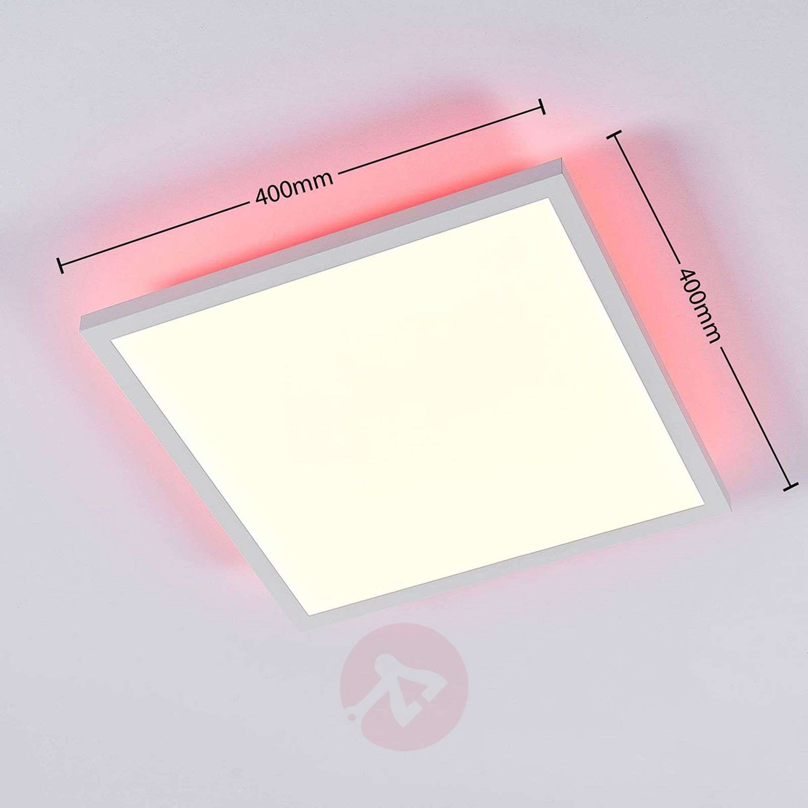 LED panel Brenda CCT with remote, 40 x 40 cm-9624204-02
