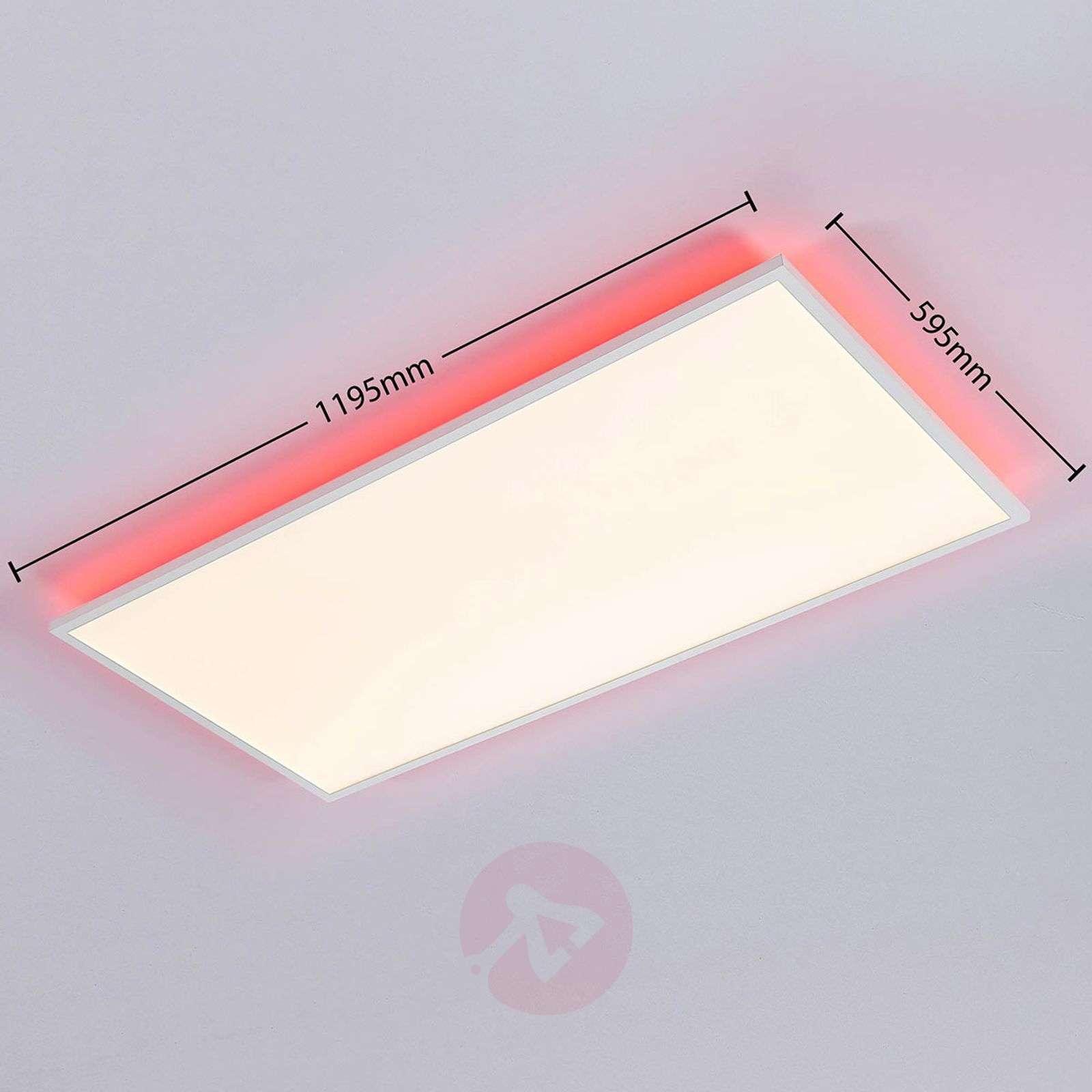 LED panel CCT Brenda, remote control,59.5x119.5cm-9624208-02