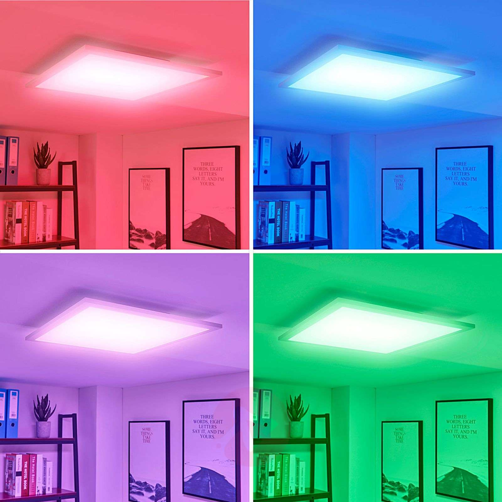 LED panel Tinus, colour change RGB warm white-9621652-01