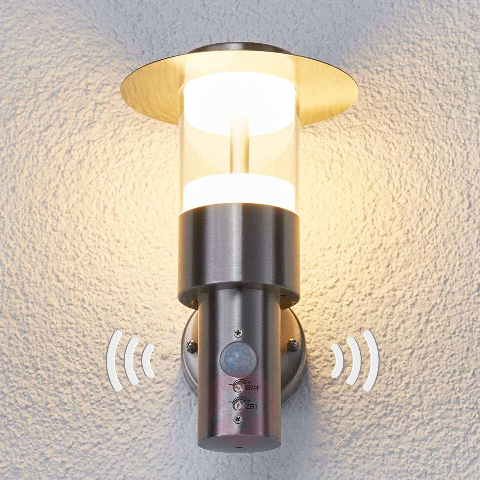 Beautiful ... LED Presence Detector Outdoor Wall Light Anouk 9988030 01 ...