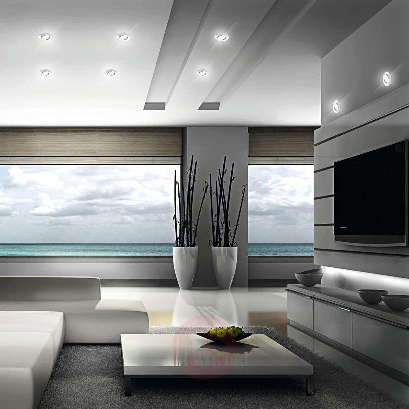 LED recessed ceiling spotlight Zenit chrome-3006558-01