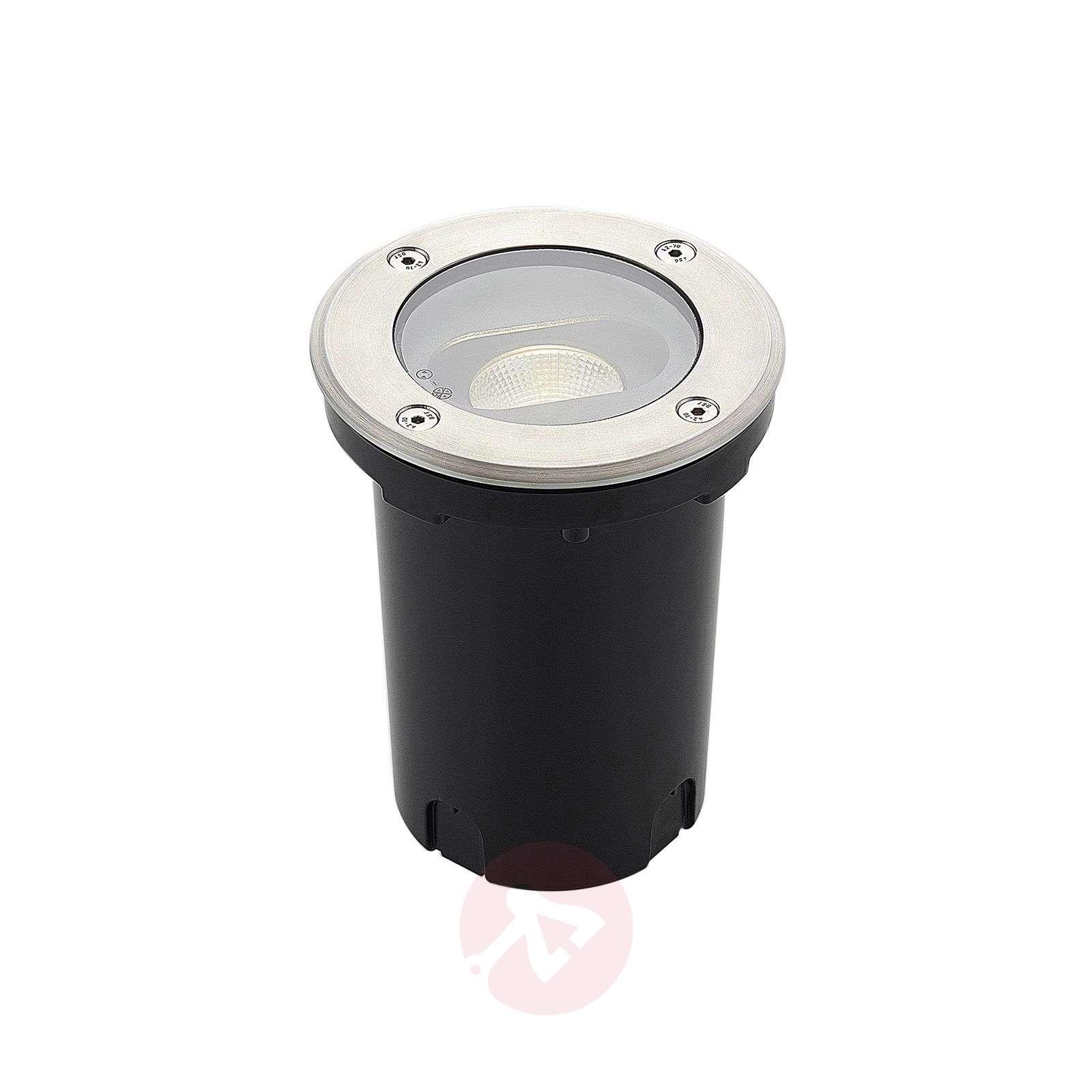 Led Recessed Floor Light Doris Stainless Steel Lights Ie
