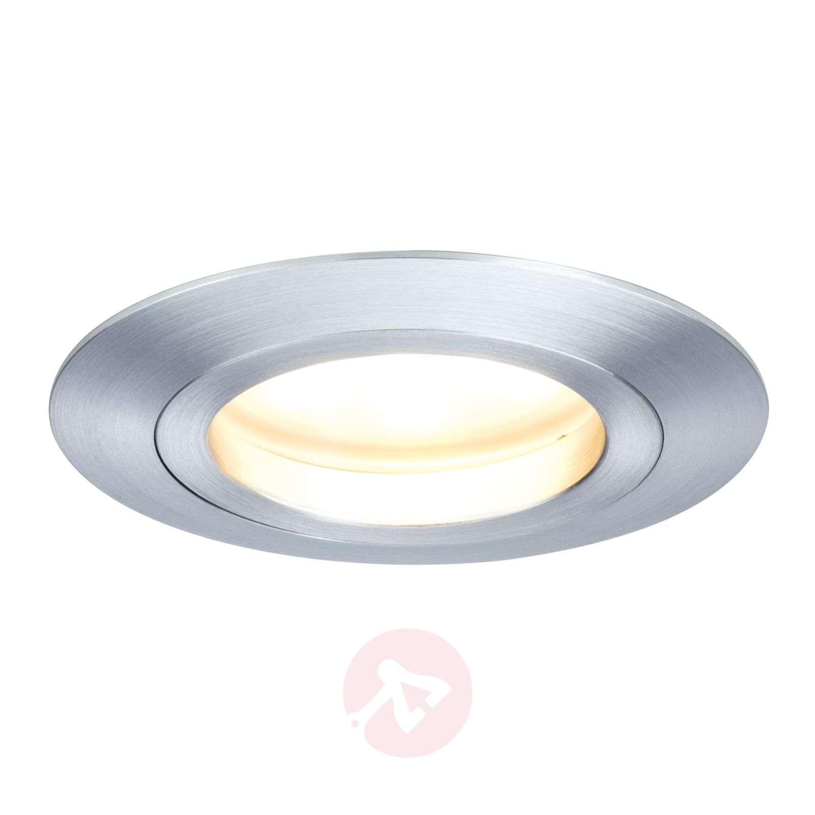 Led recessed light coin round ip44 lights ie