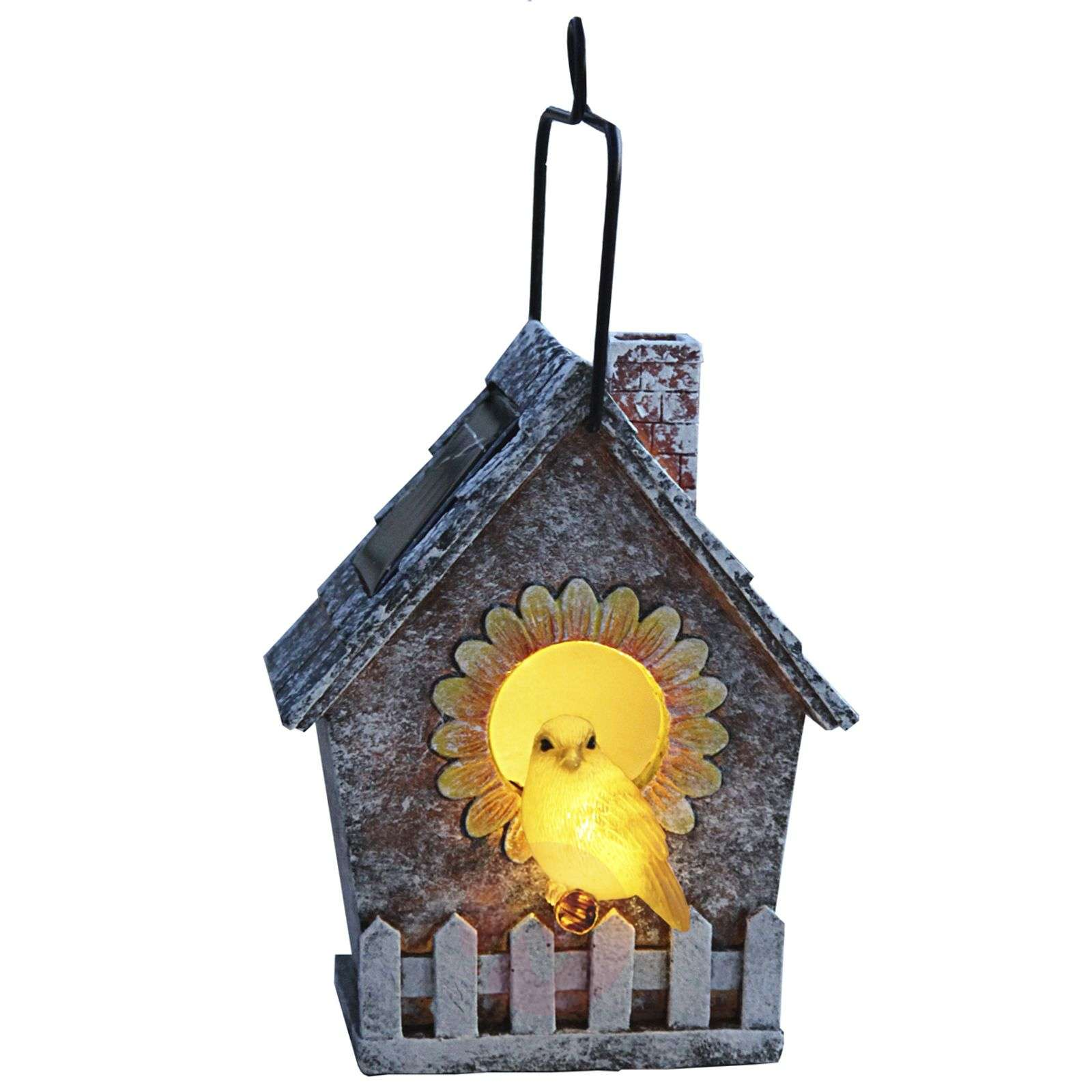LED solar lamp Bird House-1522720-01