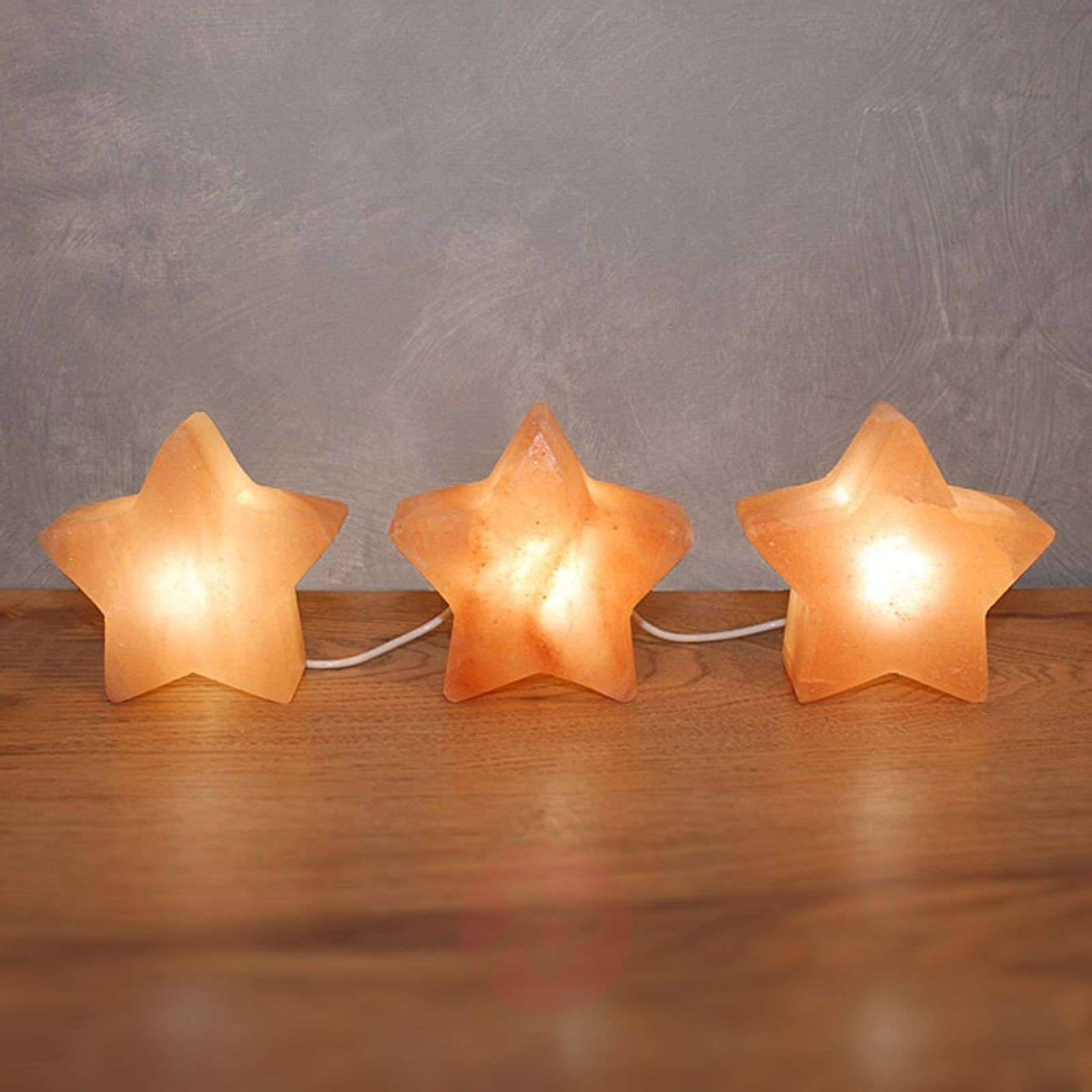 Led Star Trio Decorative Table Lamp Lights Ie