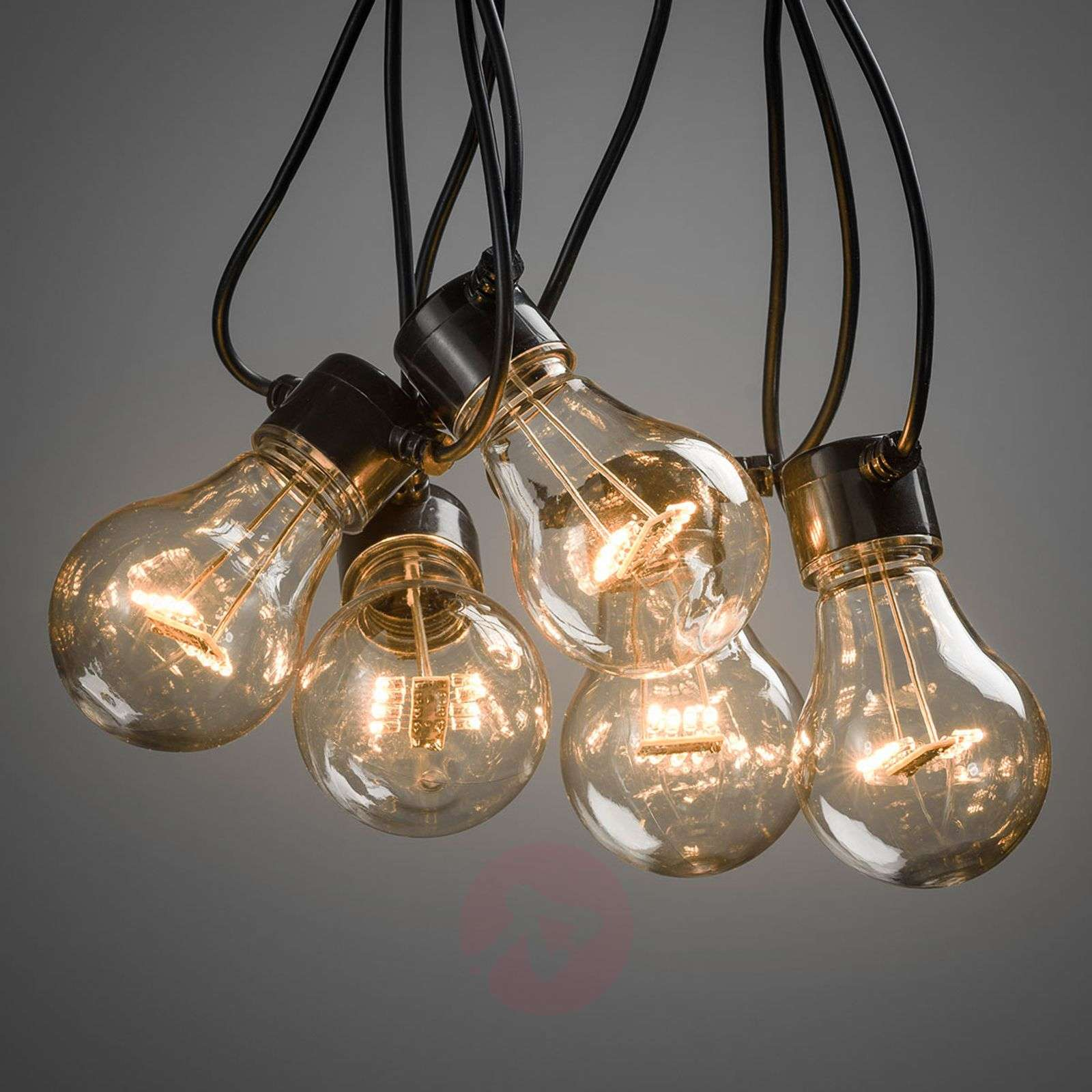 LED string lights filament amber 5-bulb-5524805-01