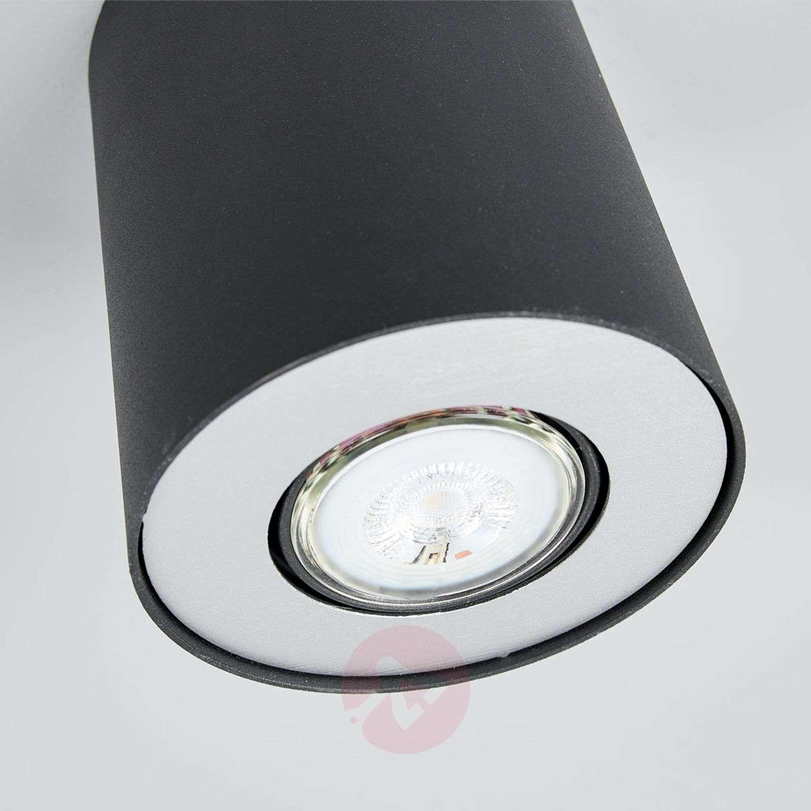 LED surface-mounted spotlight Pillar, black-7531894-01