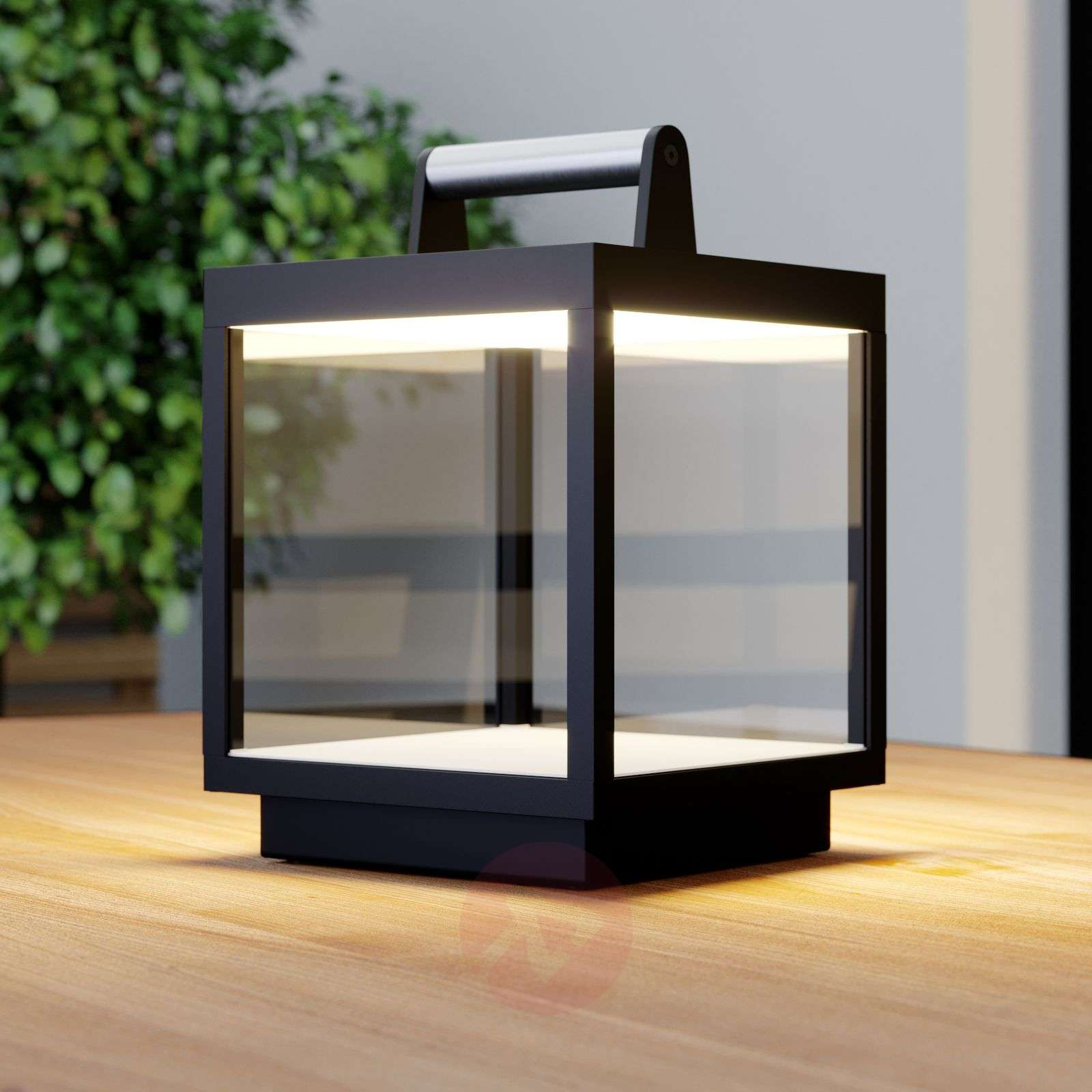 LED table lamp Cube for outdoors, rechargeable-9619161-03